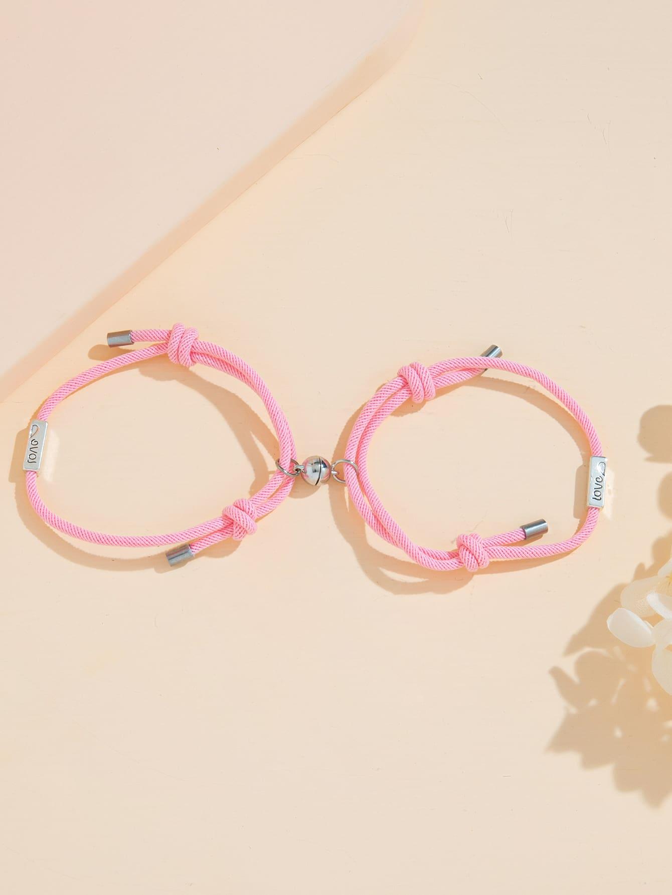 2pcs Knot Couple Bracelet thumbnail