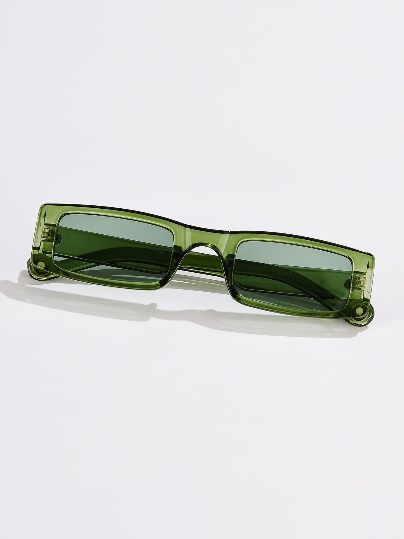 Square Frame Tinted Lens Sunglasses thumbnail