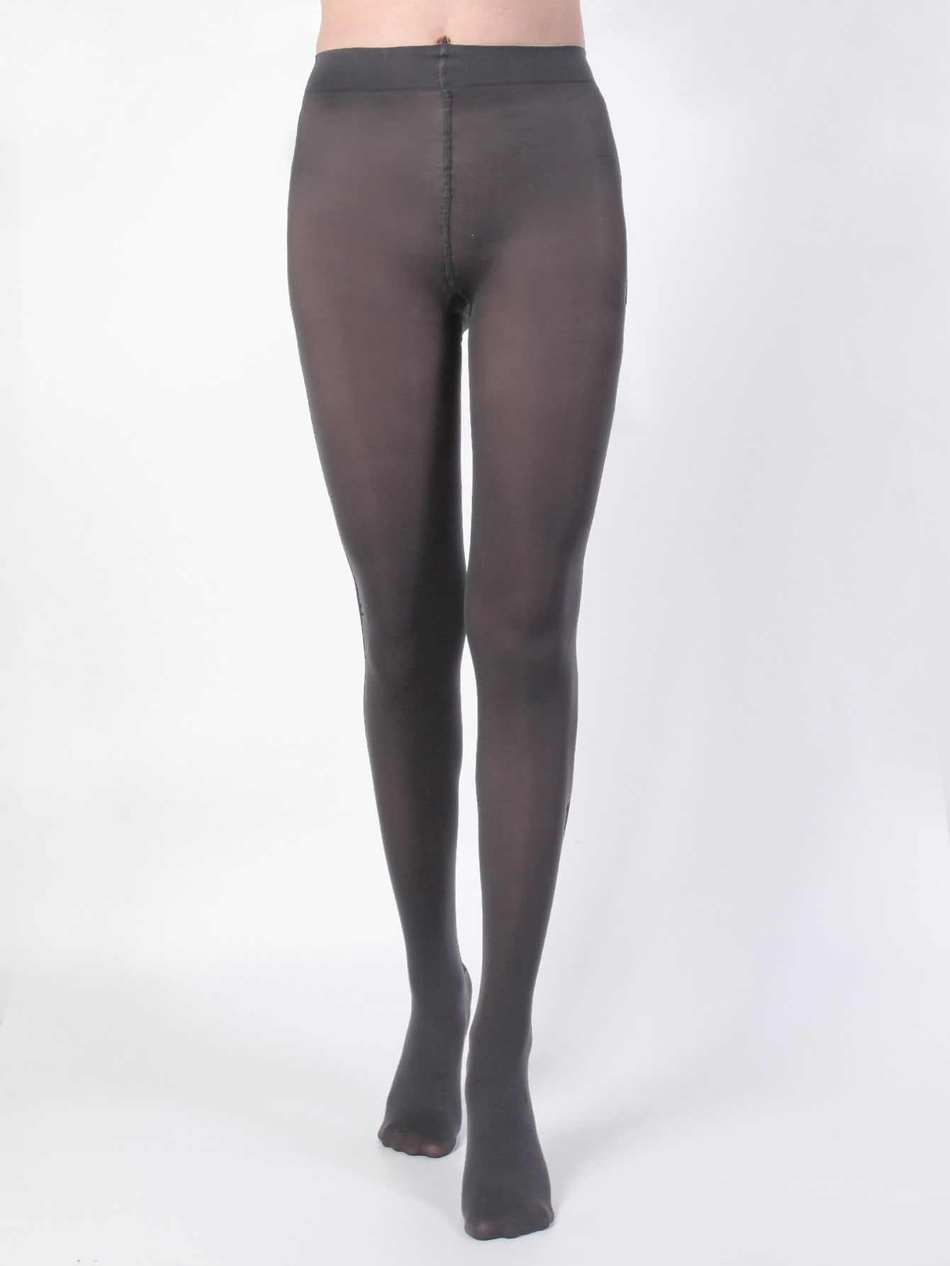 120D Simple Plain Tights thumbnail