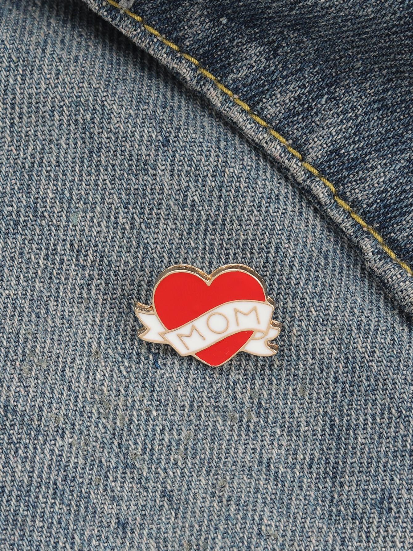 Heart Design Brooch thumbnail