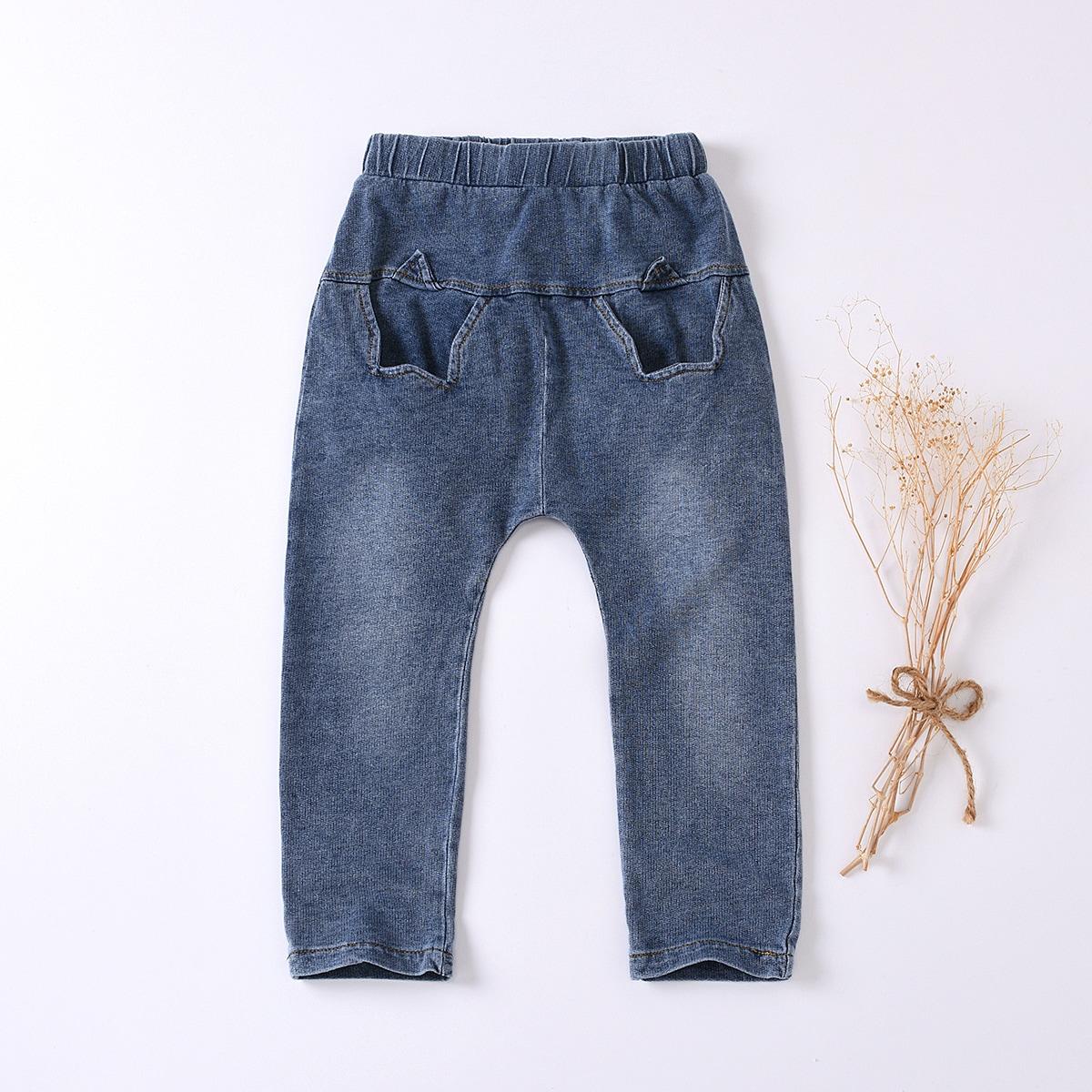 Буква повседневный джинсы для мальчиков