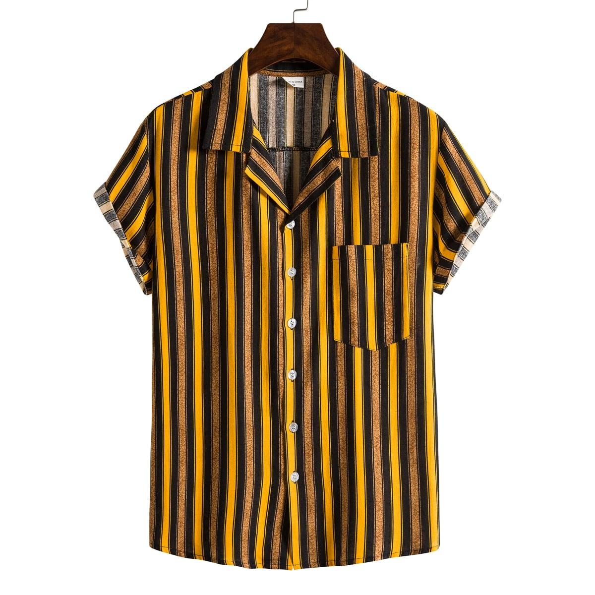 Guys Striped Shirt