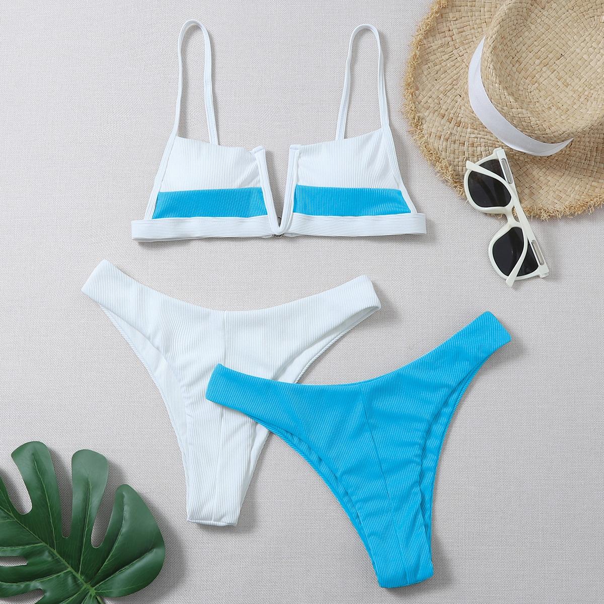 Sets bikini Blocchi di colore Sportivo