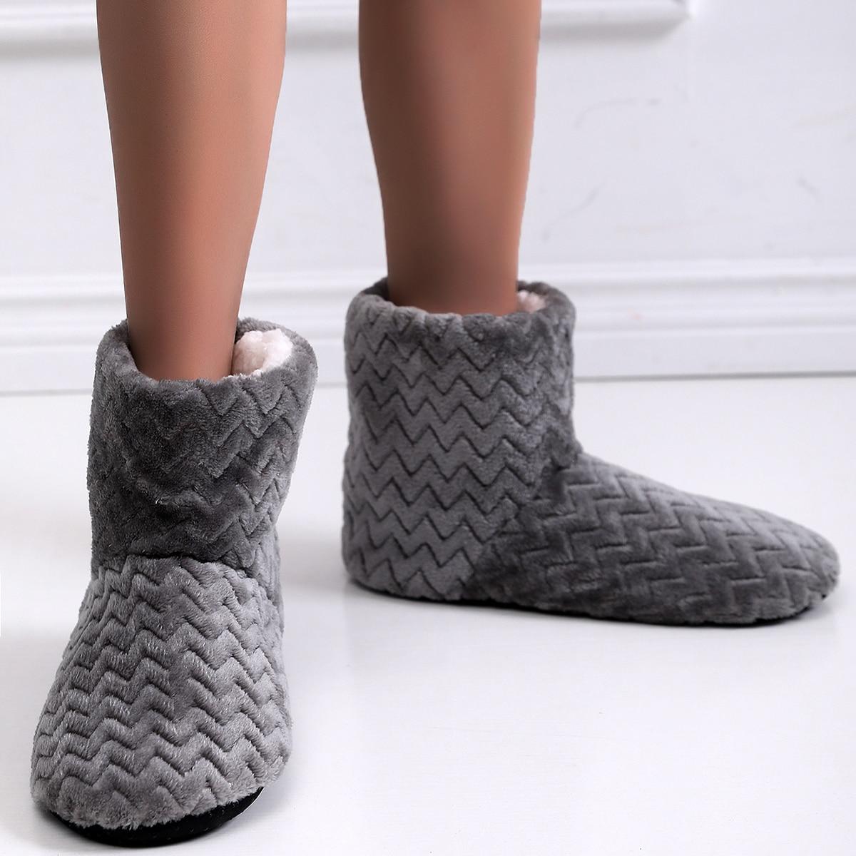 Сапоги-тапочки на плюшевой подкладке SheIn swshoes18201214982
