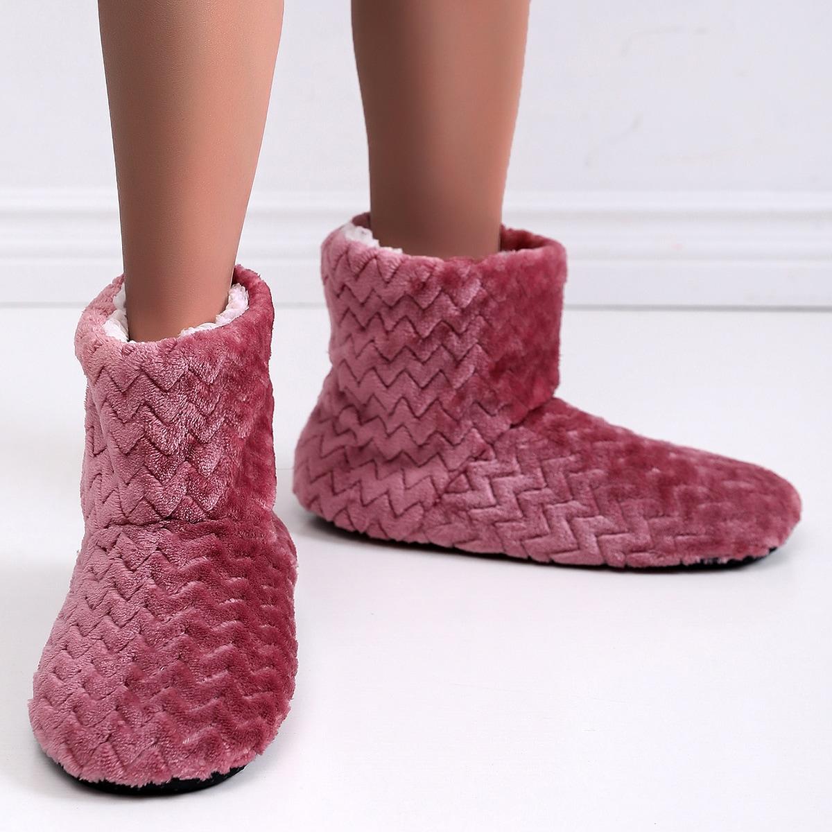 Сапоги-тапочки на плюшевой подкладке SheIn swshoes18201214415