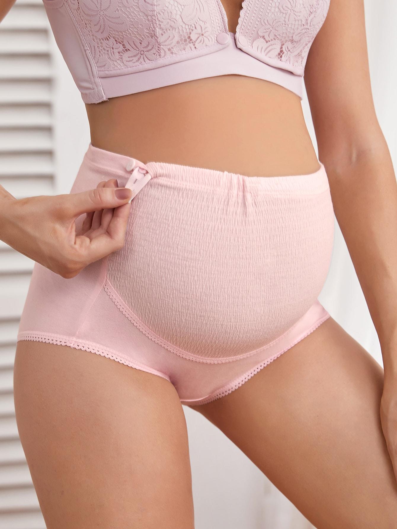 Maternity Lace Trim Panty thumbnail