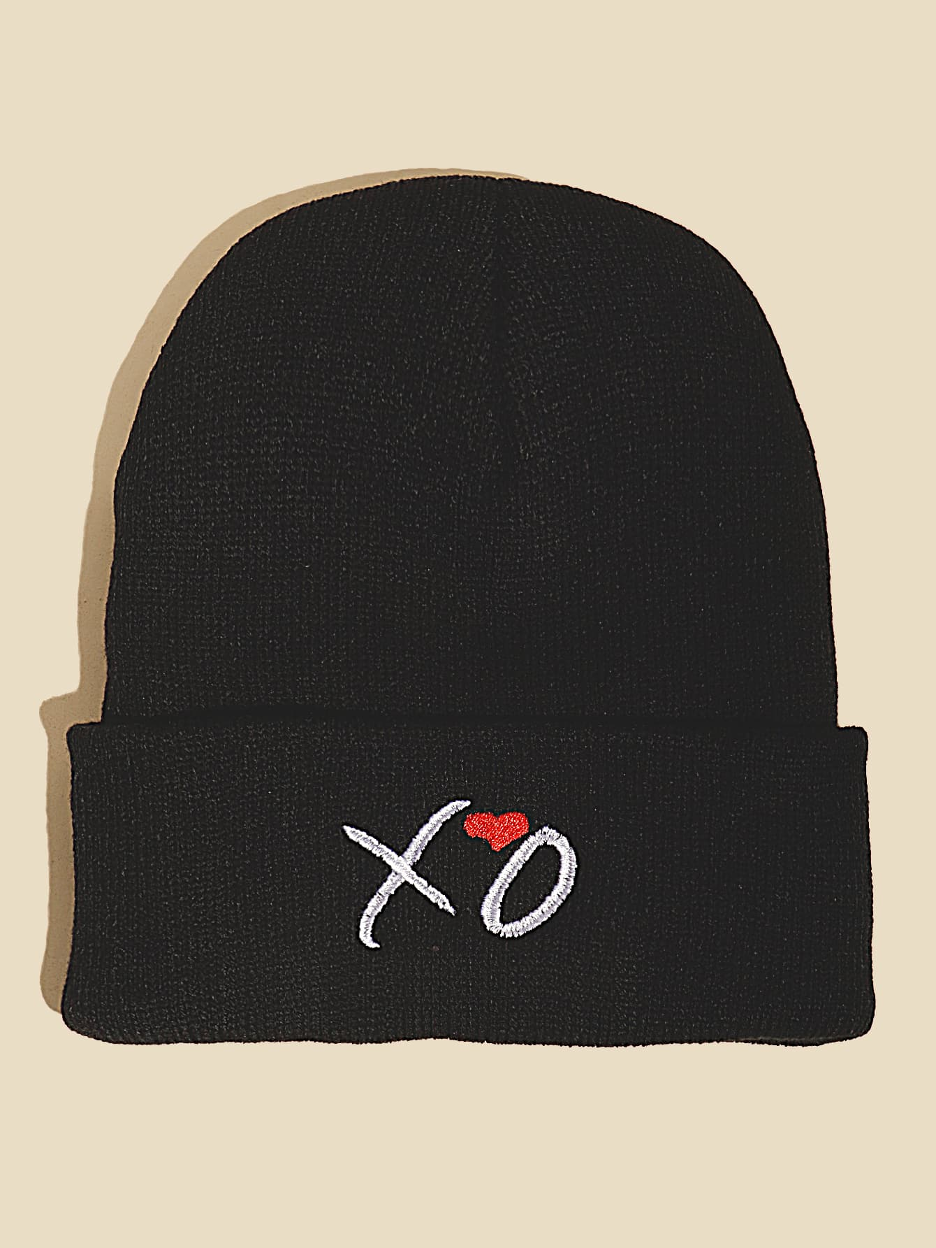 Letter Embroidered Beanie thumbnail
