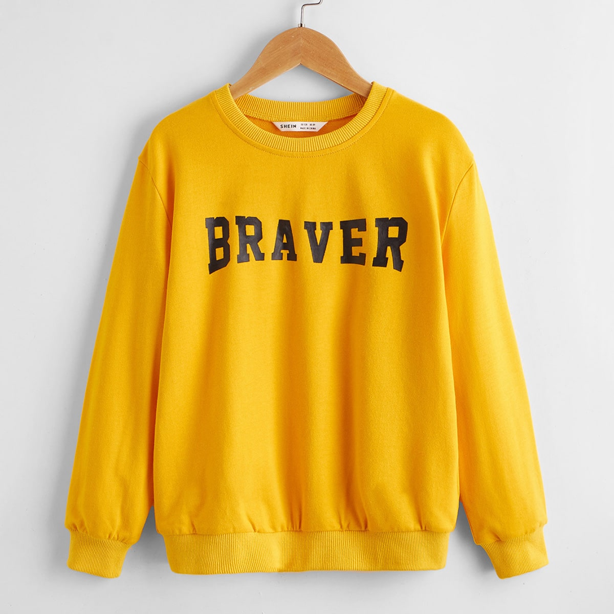 Boys Letter Graphic Pullover