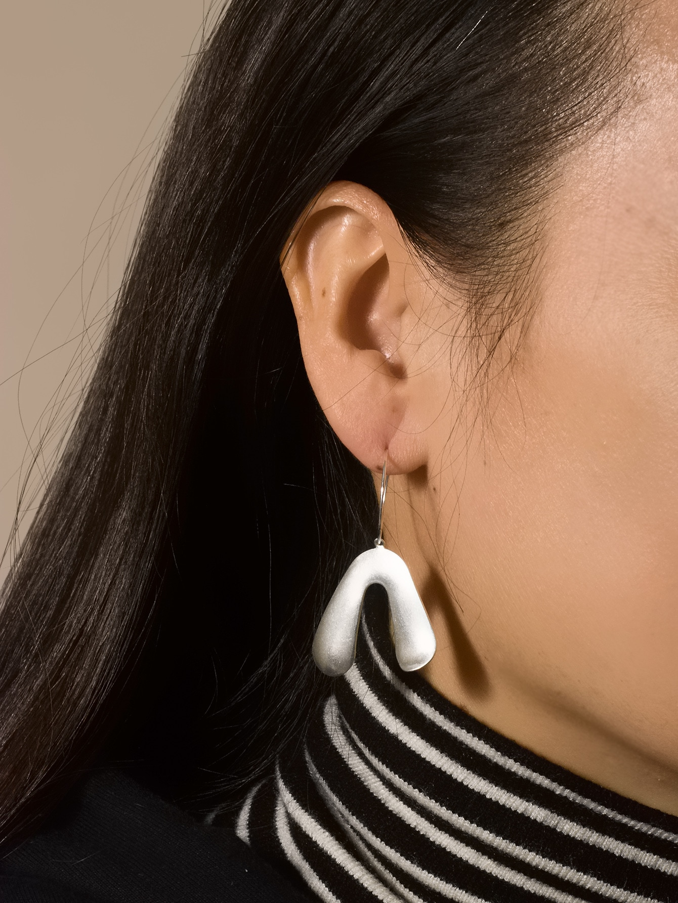 Structured Drop Earrings thumbnail