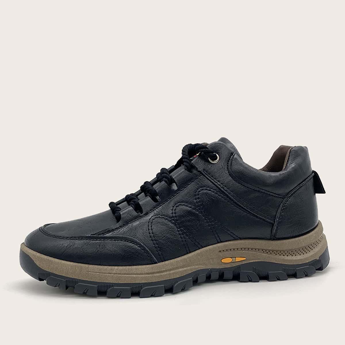 Мужские походные туфли на шнурках