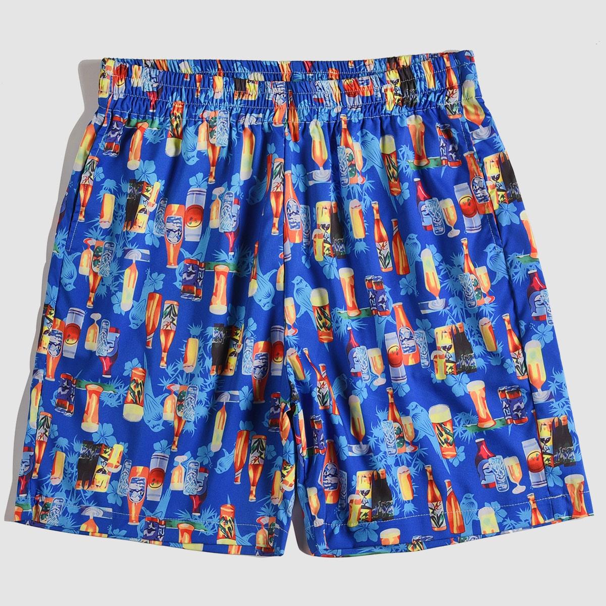 Животный отпуск мужские шорты