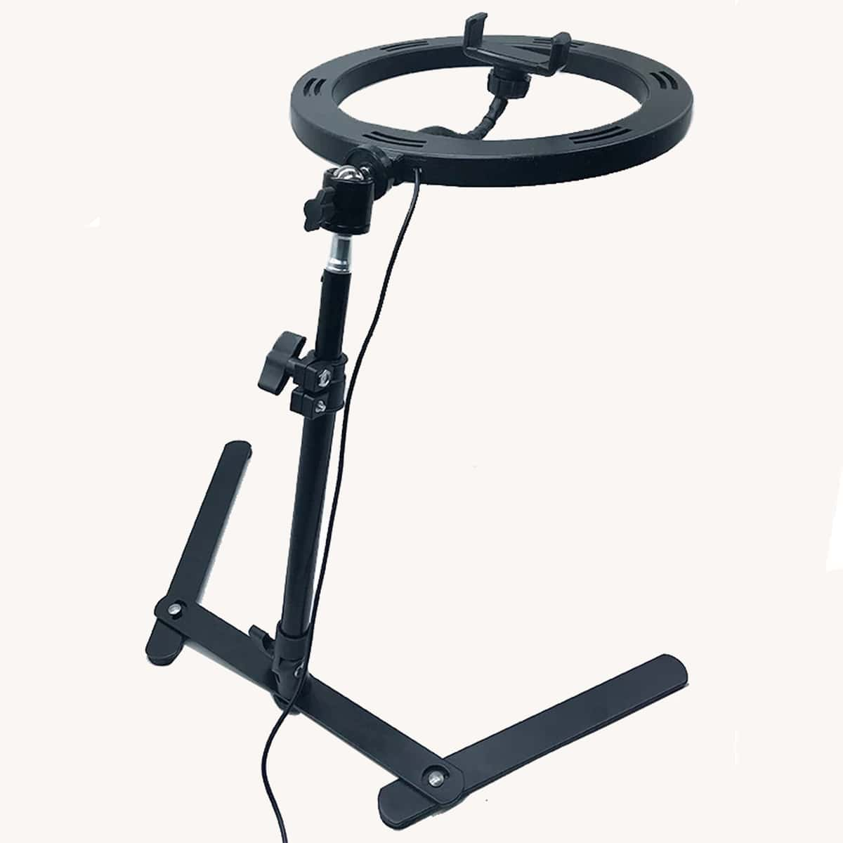 Multifunction Ring Light With Phone Holder