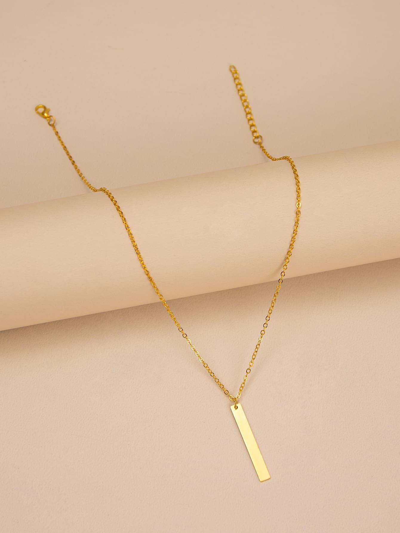 Geometric Charm Necklace thumbnail