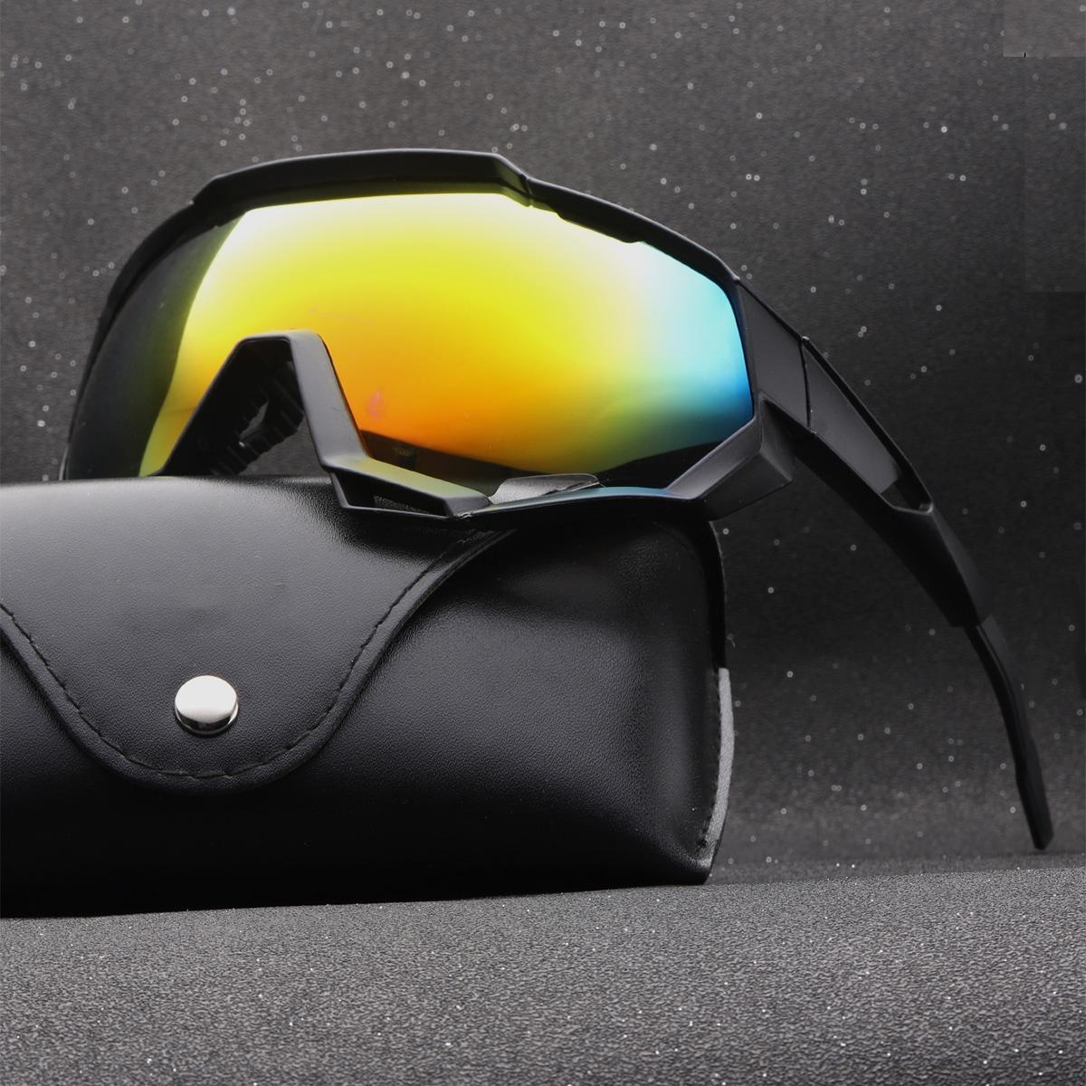 Мужские спортивные защитные солнцезащитные очки от SHEIN