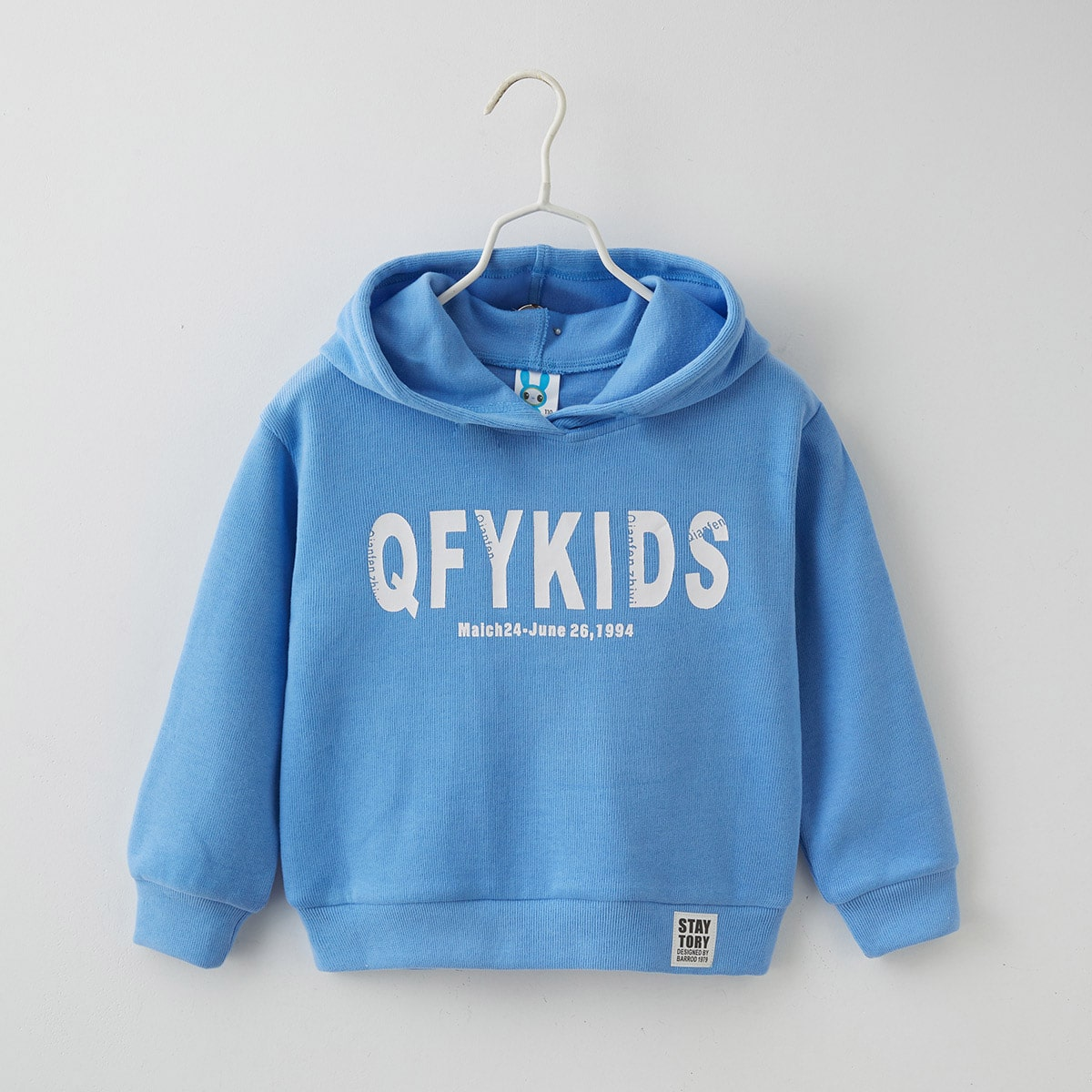 Girls Letter Graphic Patched Hoodie, SHEIN  - buy with discount
