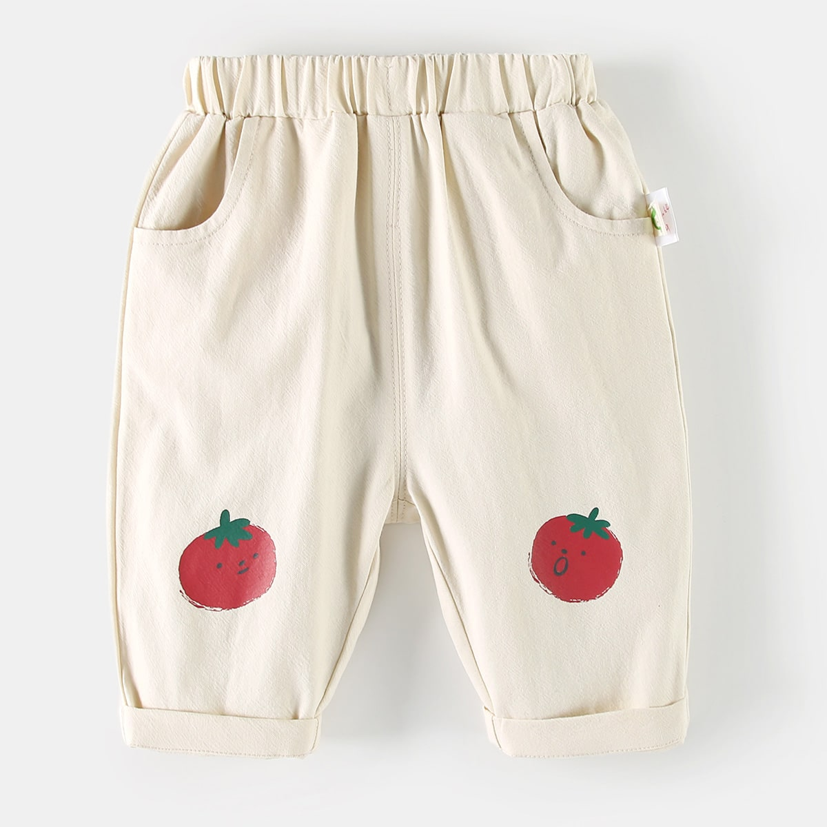 с карманами Фрукты и овощи Низ для малышей