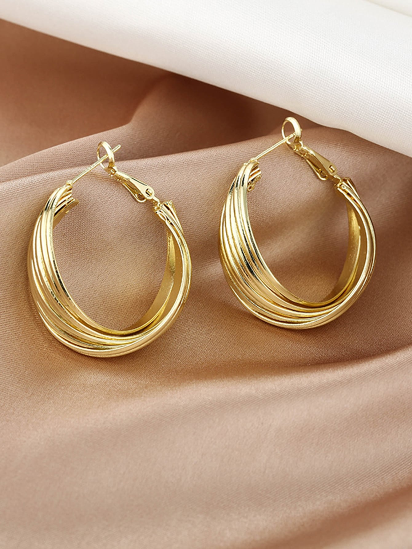 Chunky Hoop Earrings thumbnail