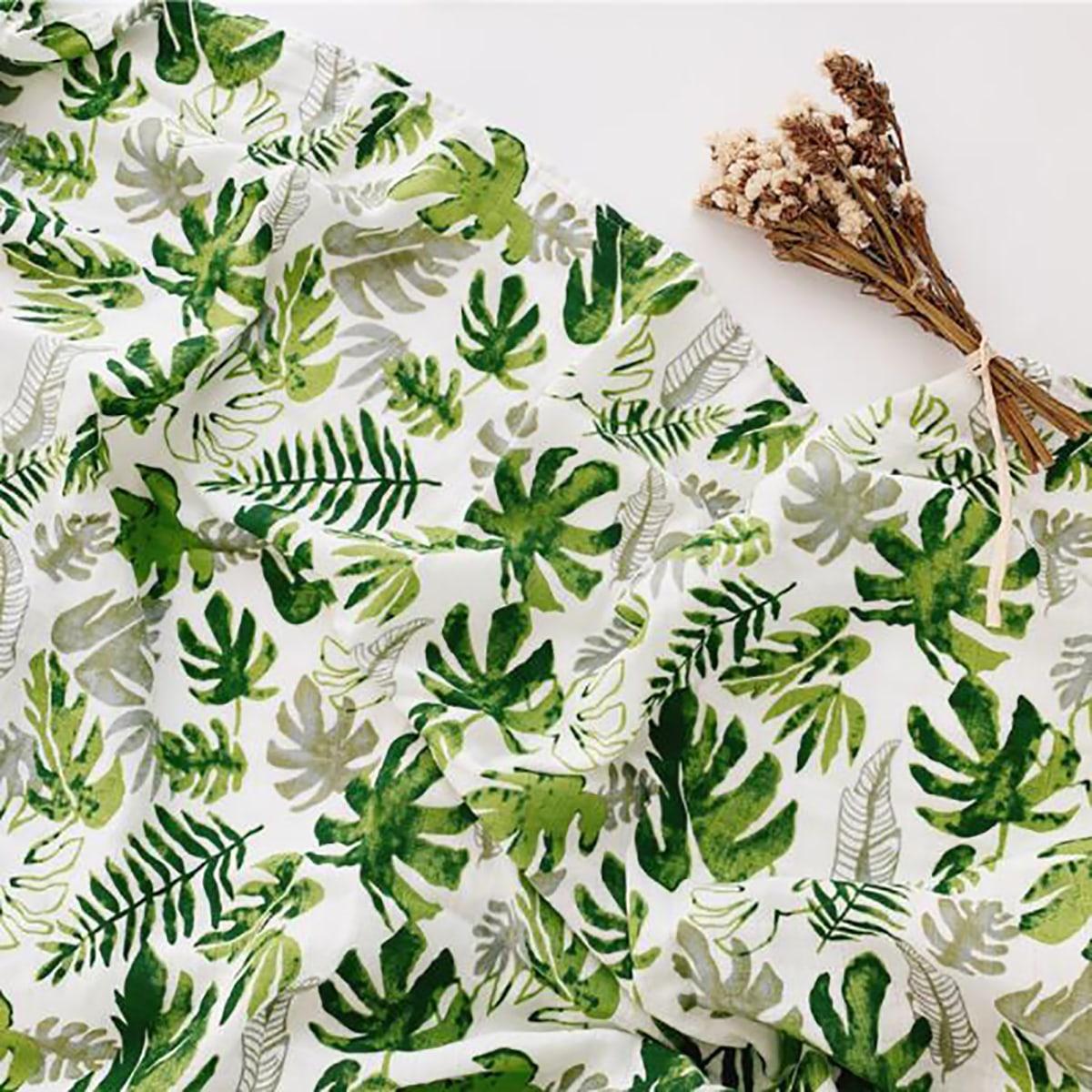 Детское одеяло с тропическим принтом