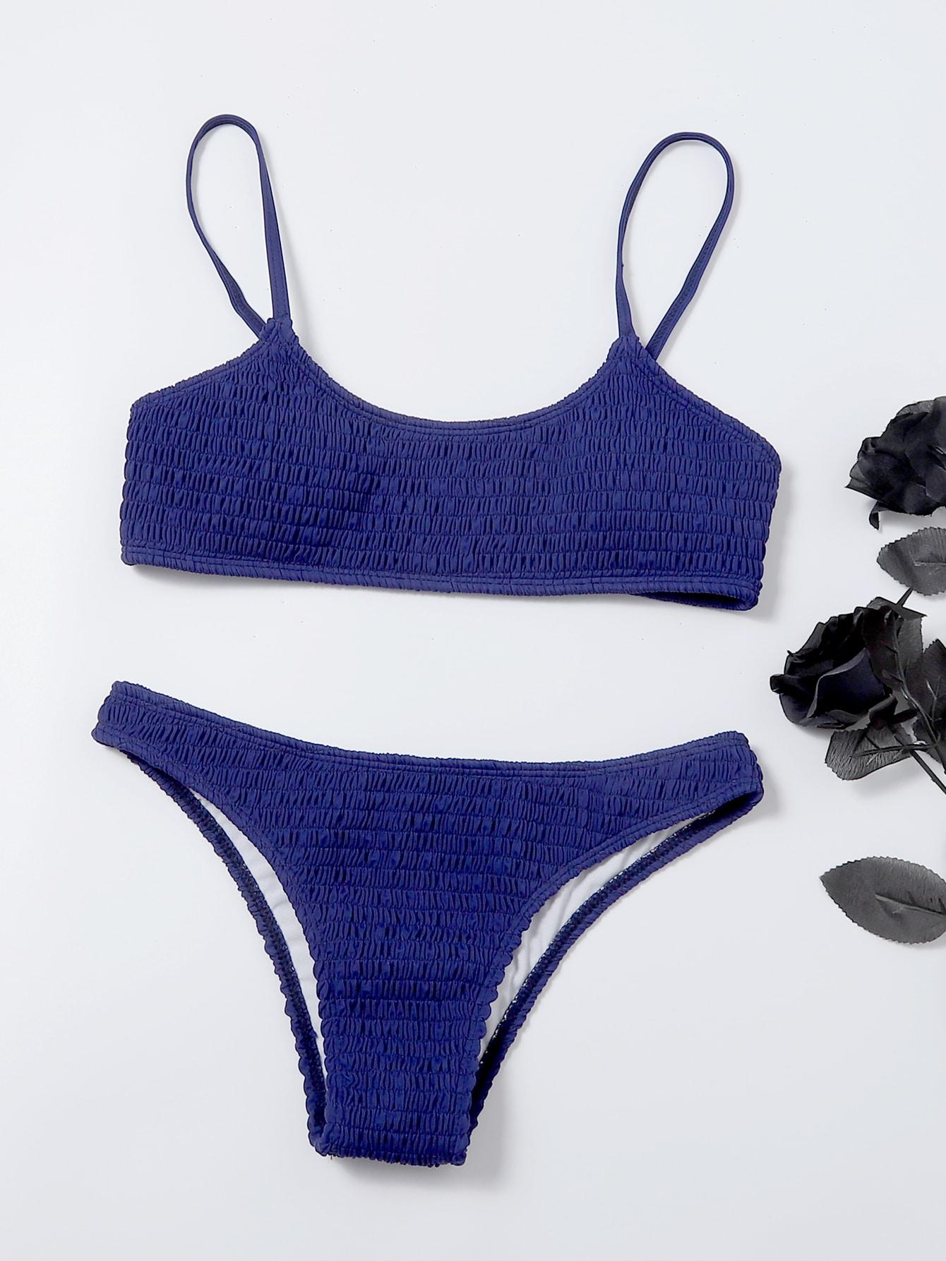 Smocked Bikini Swimsuit thumbnail