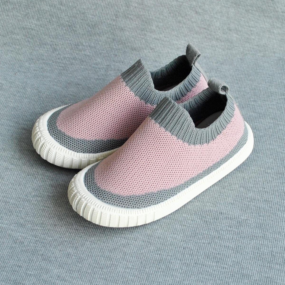 Двухцветные кроссовки для девочек от SHEIN