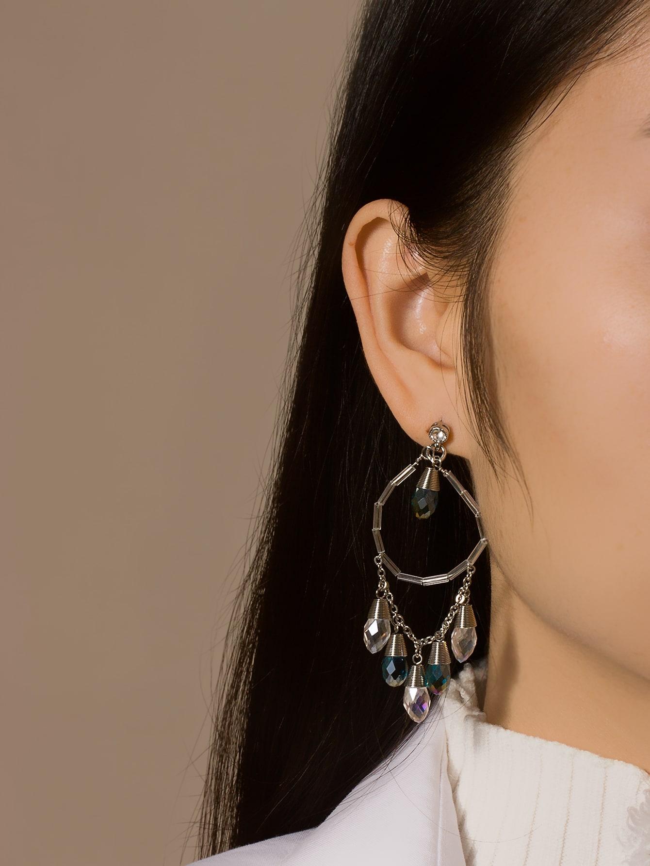 Water-drop Bead Drop Earrings thumbnail