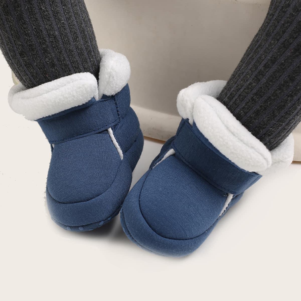 Ботинки на плюшевой подкладке для мальчиков
