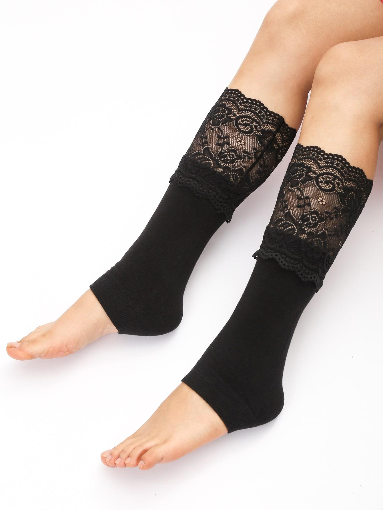 Lace Decor Leg Warmers thumbnail