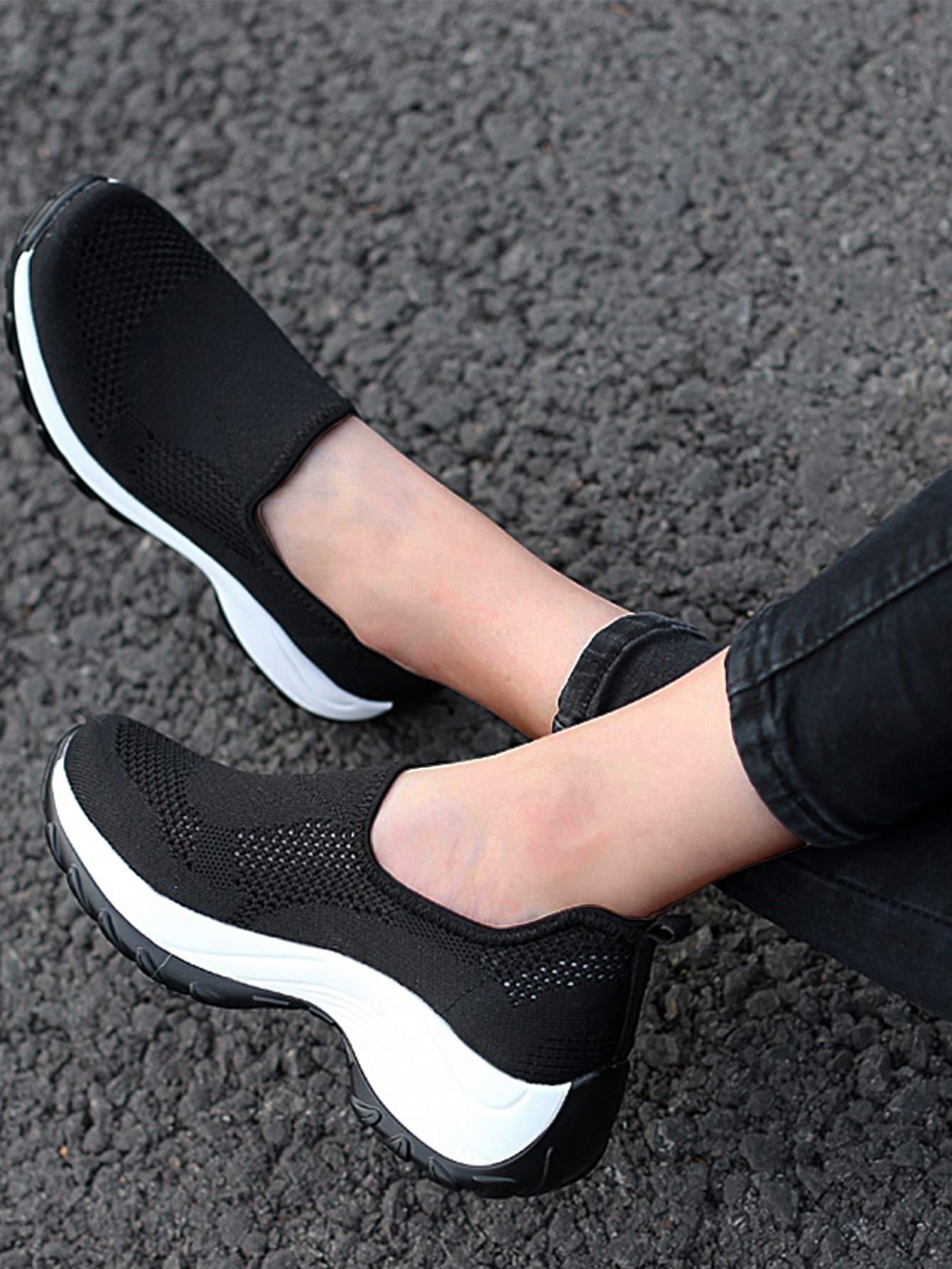 Low Top Knit Sneakers thumbnail