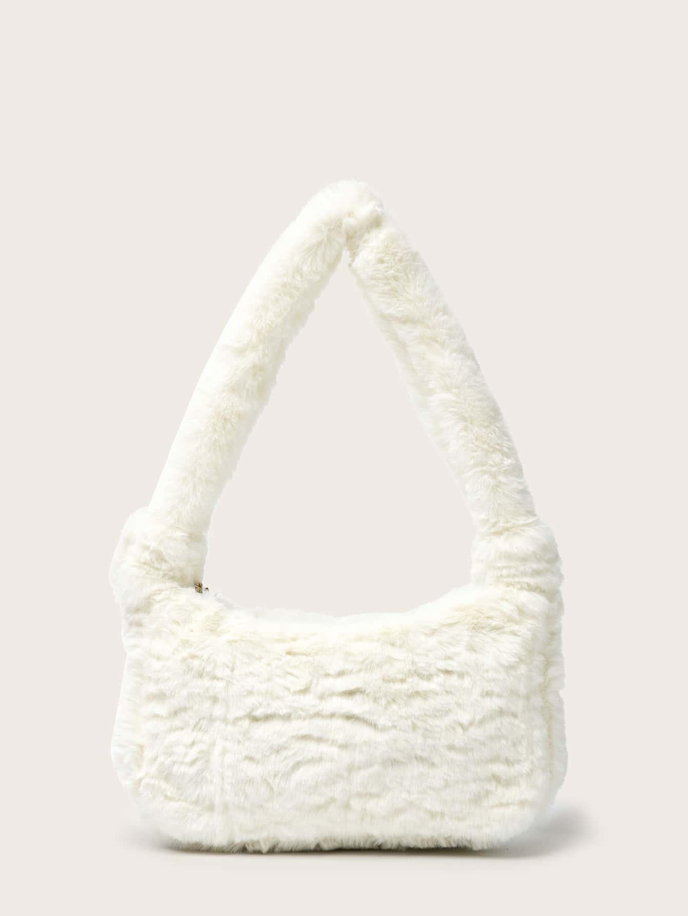 Minimalist Fluffy Baguette Bag thumbnail