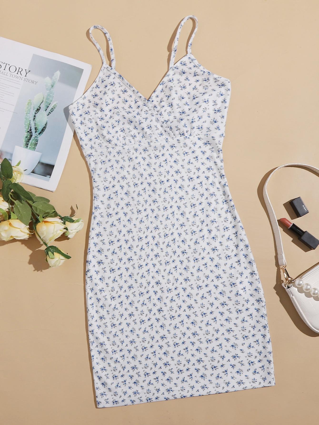 Ditsy Floral Print Dress thumbnail