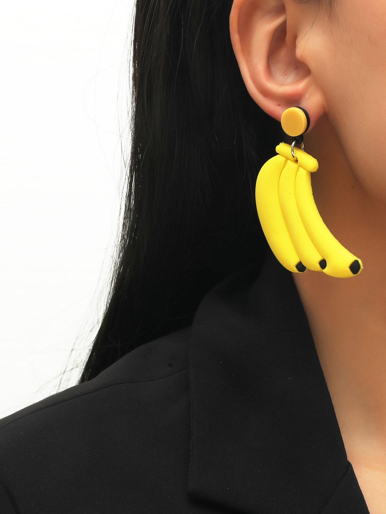 Banana Drop Earrings thumbnail