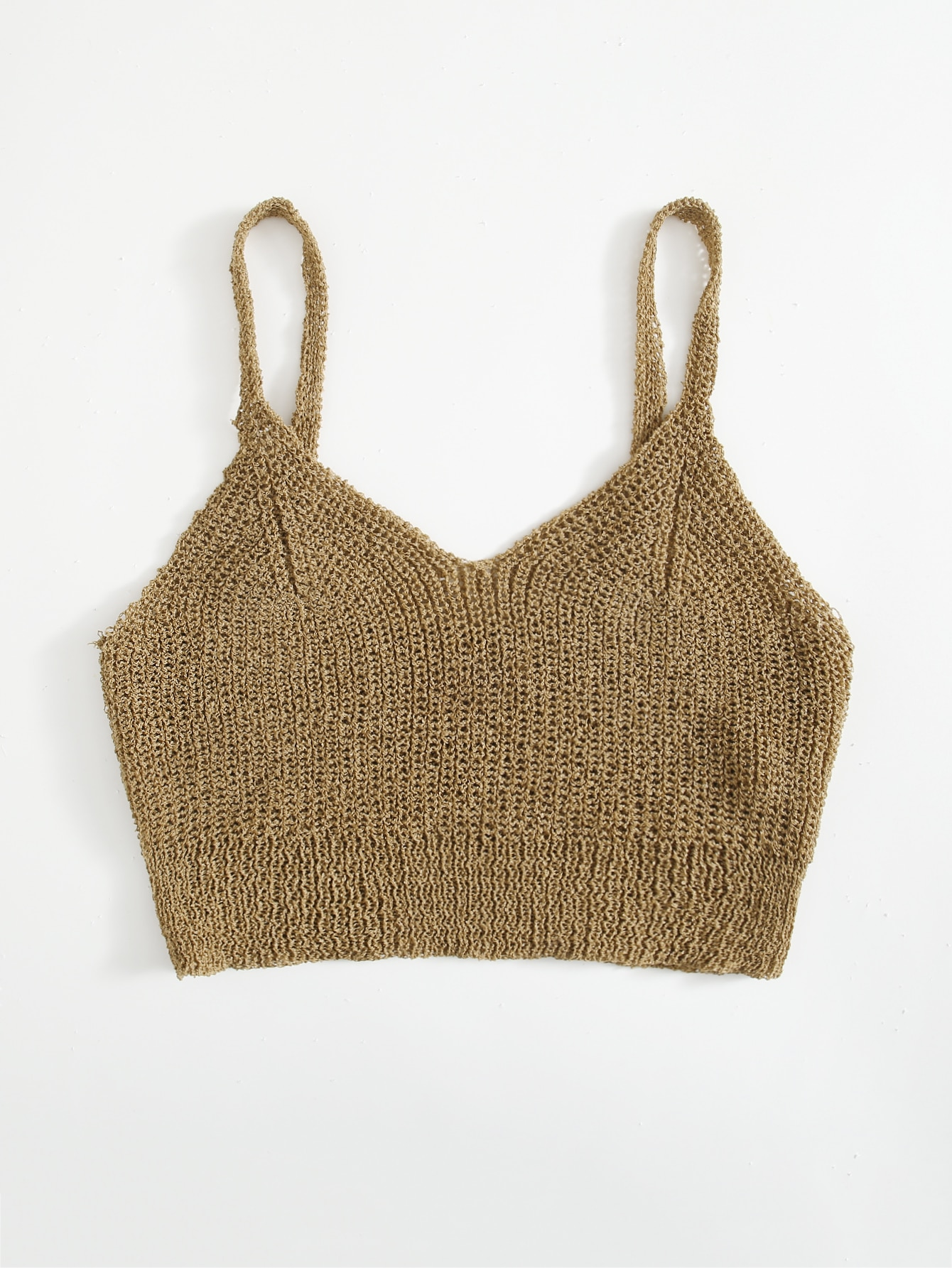 Crochet Cami Cover Up Top thumbnail