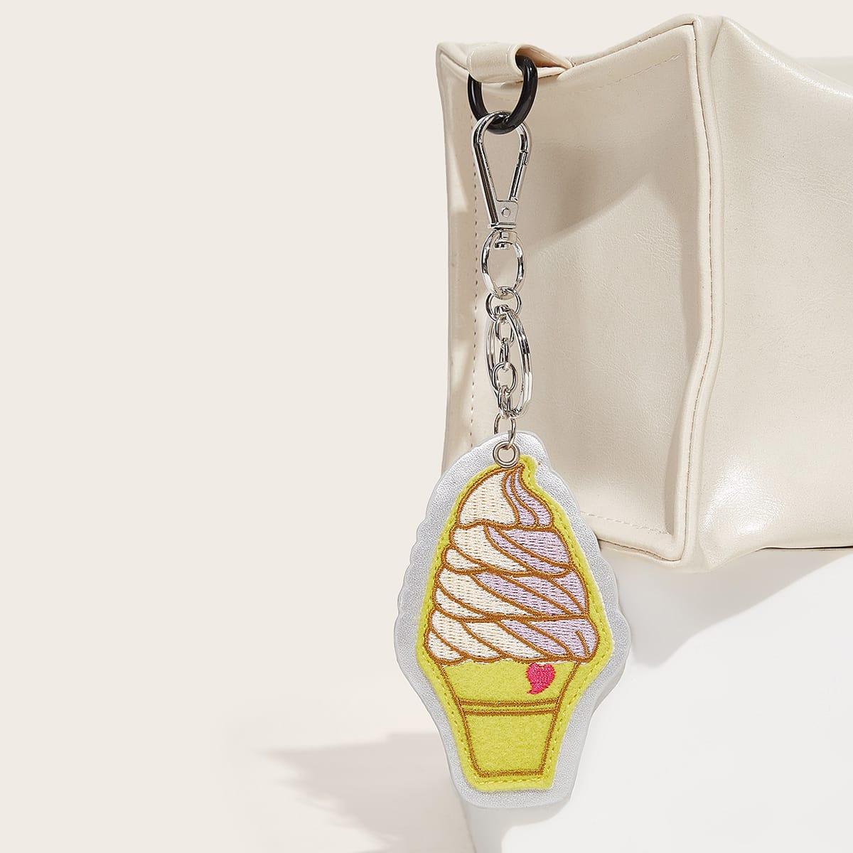 Подвеска для сумки в форме мороженого