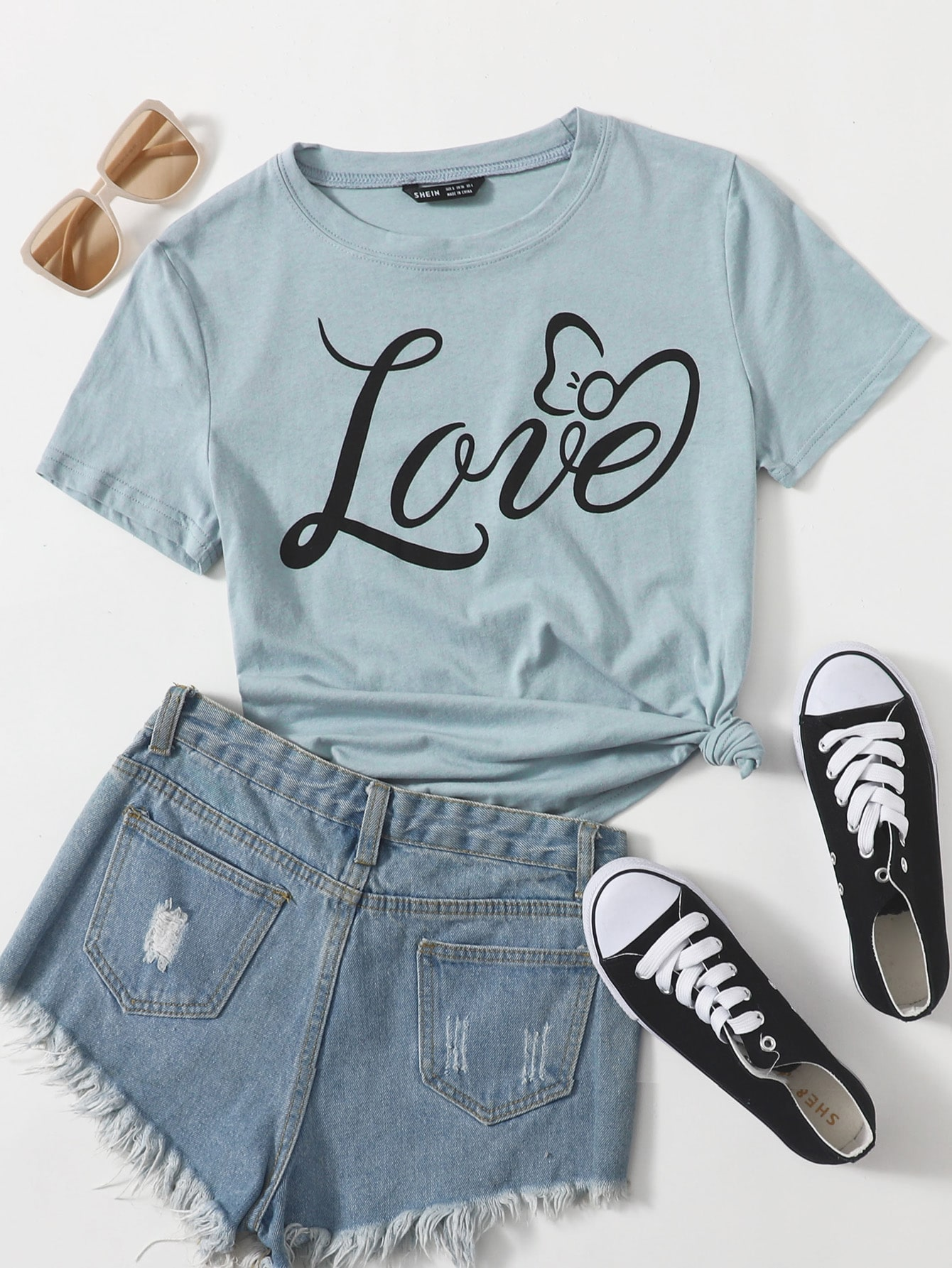 Letter Graphic Tee thumbnail