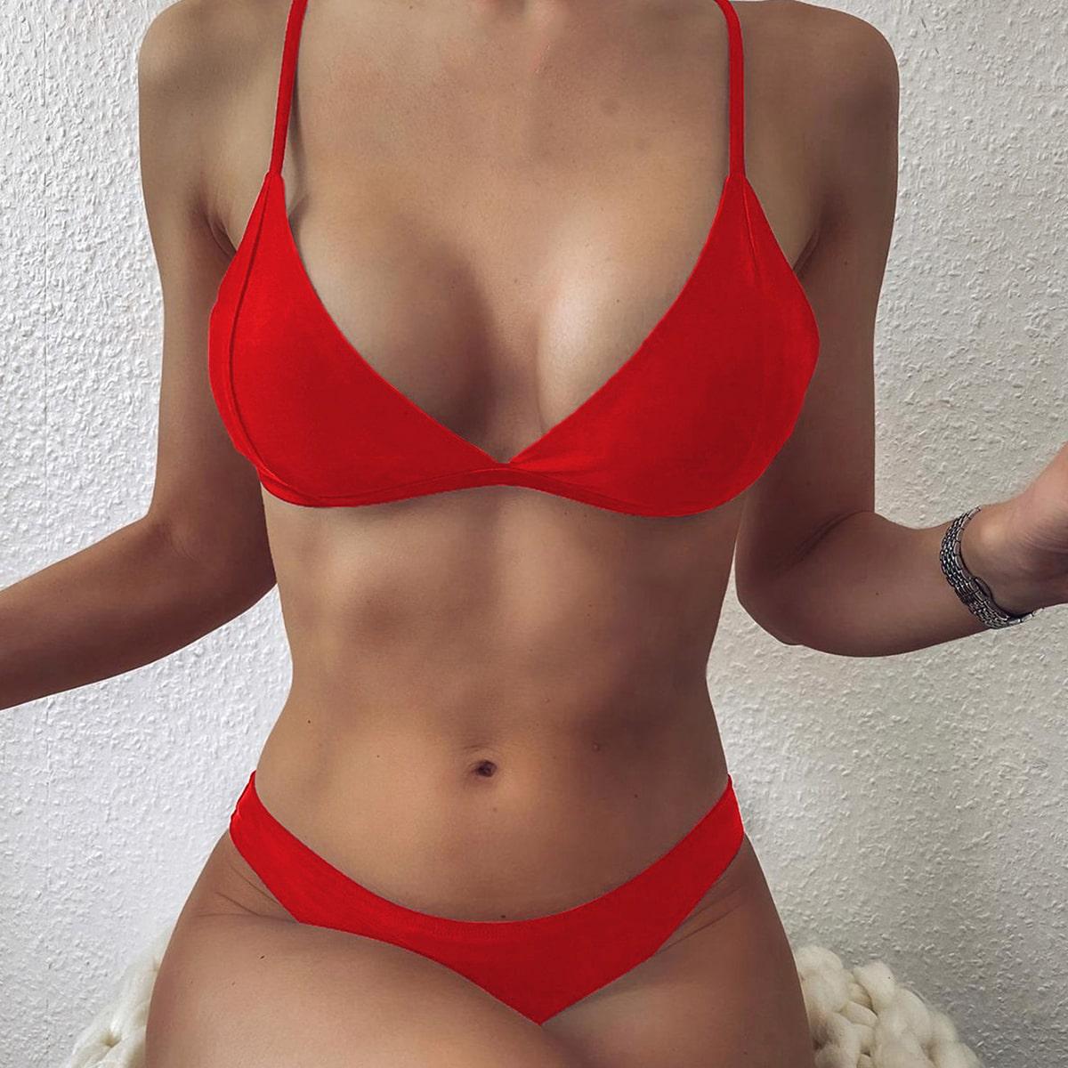 Dreieckiger Bikini