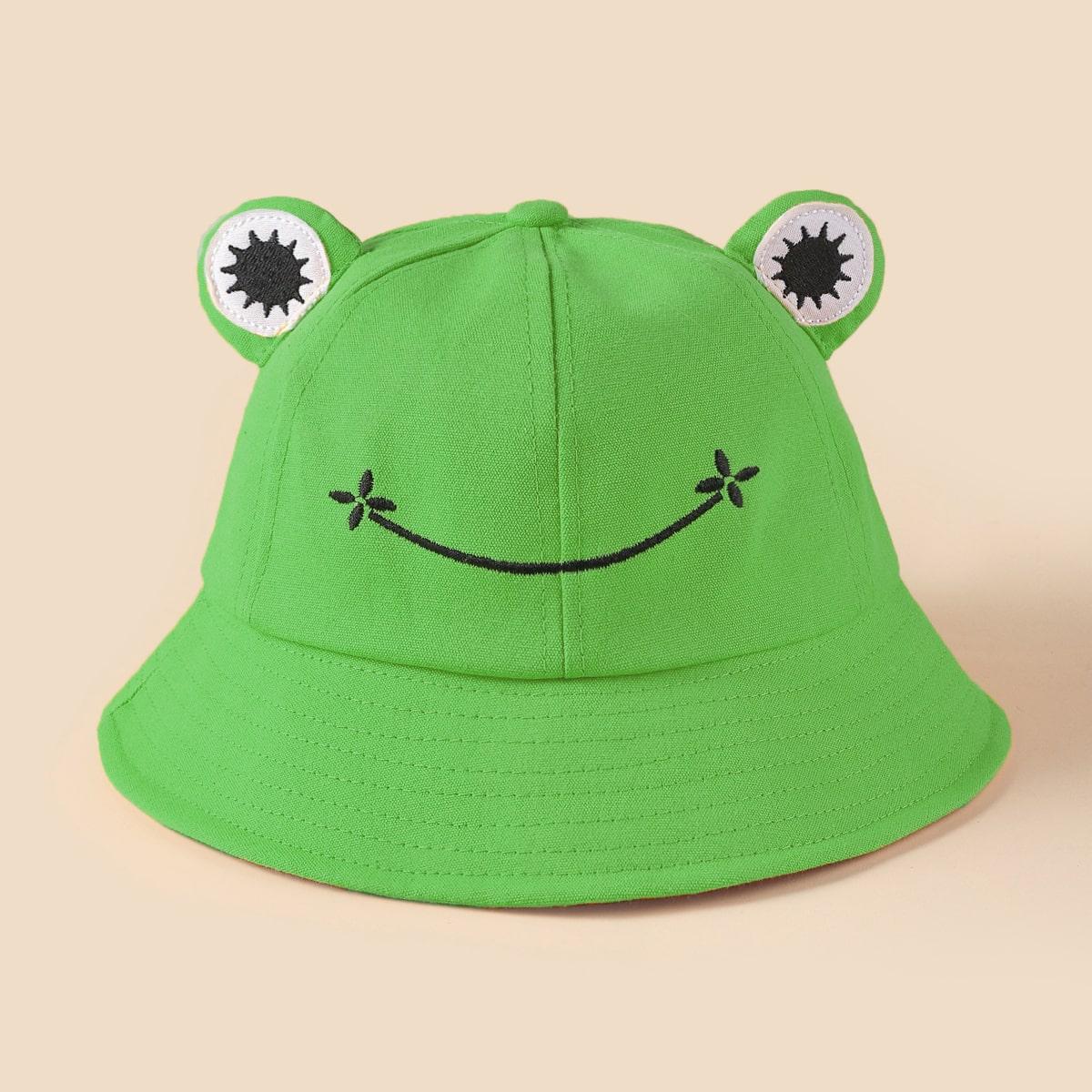 Шляпа в форме лягушки
