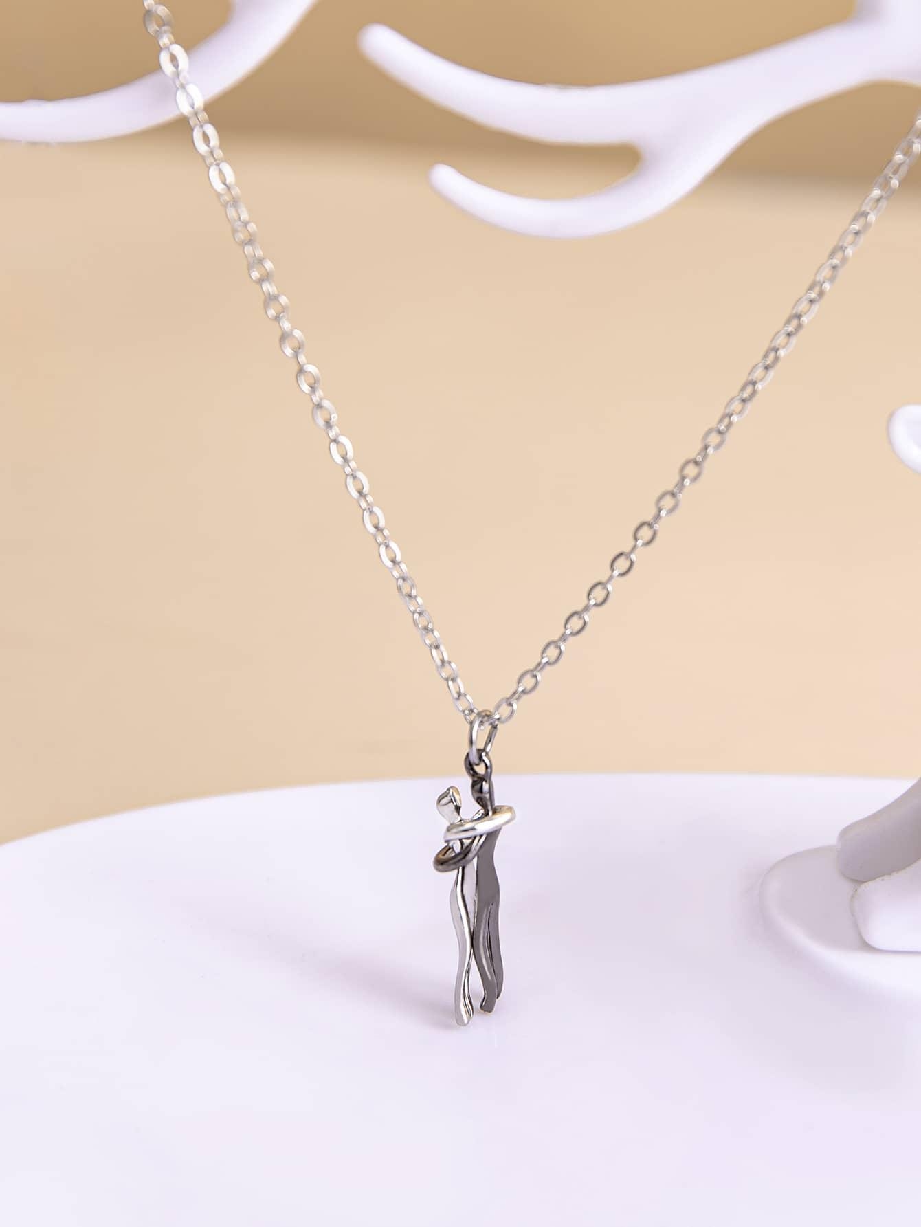 Figure Pendant Necklace thumbnail