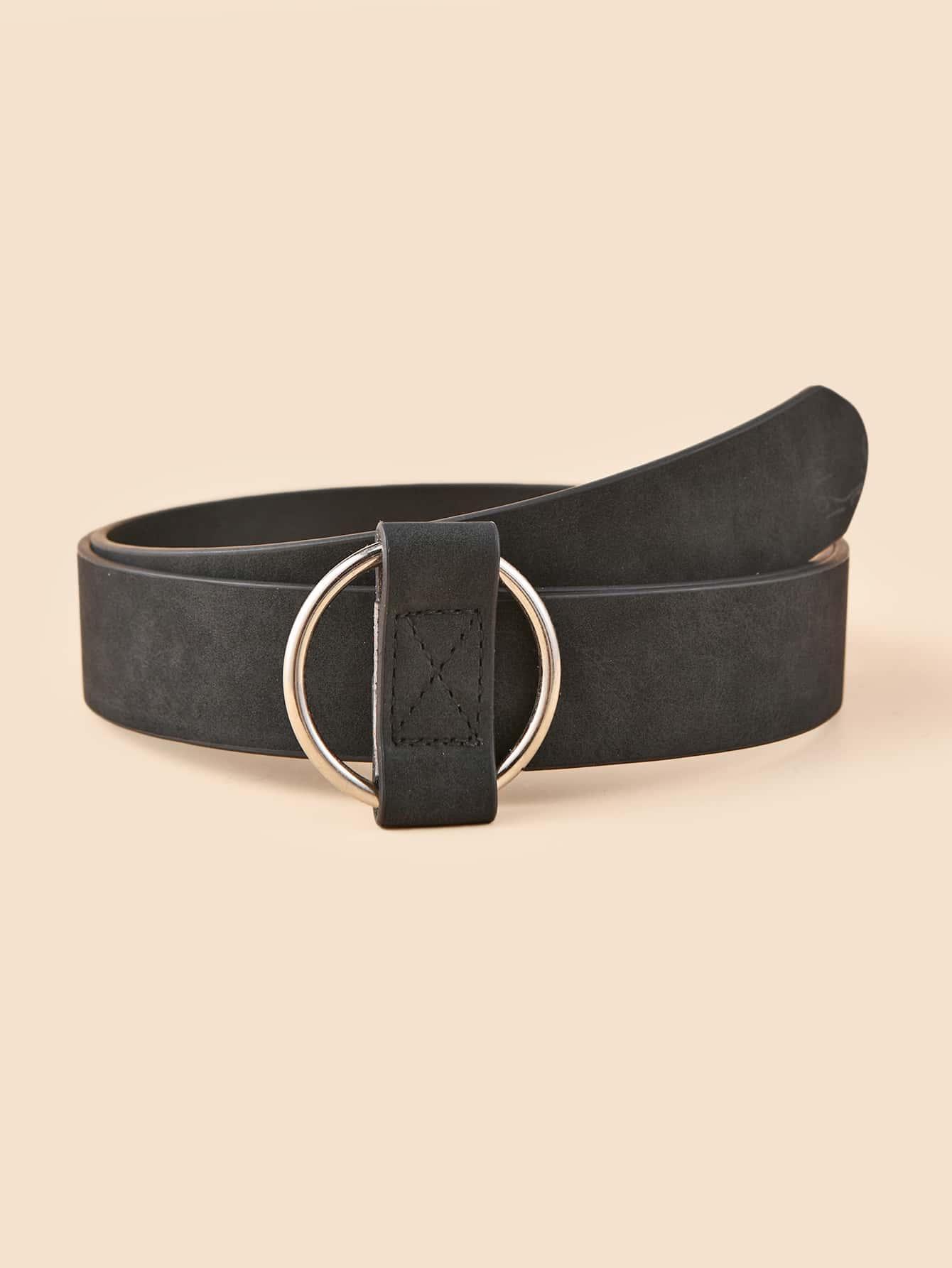 Round Metal Buckle Belt thumbnail