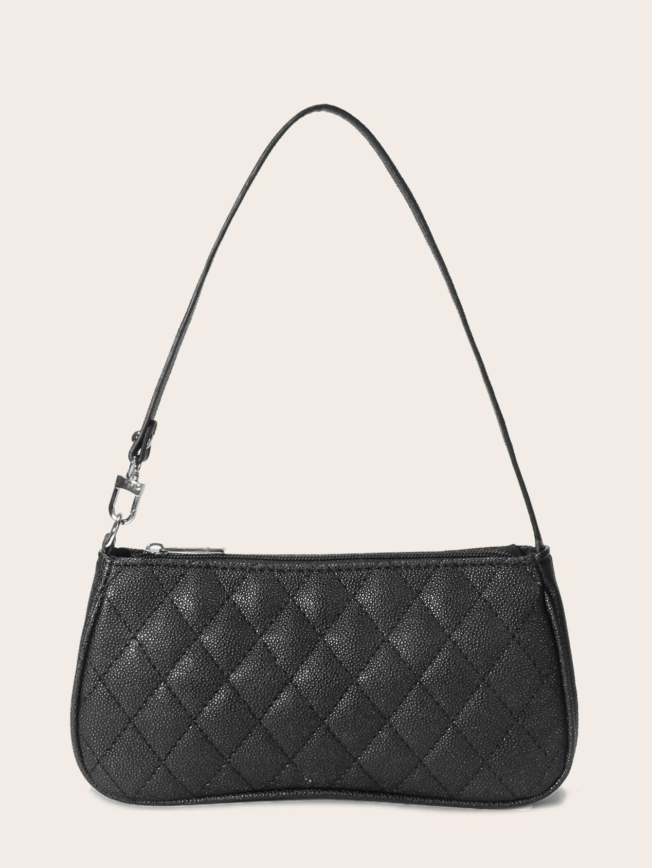 Quilted Baguette Bag thumbnail