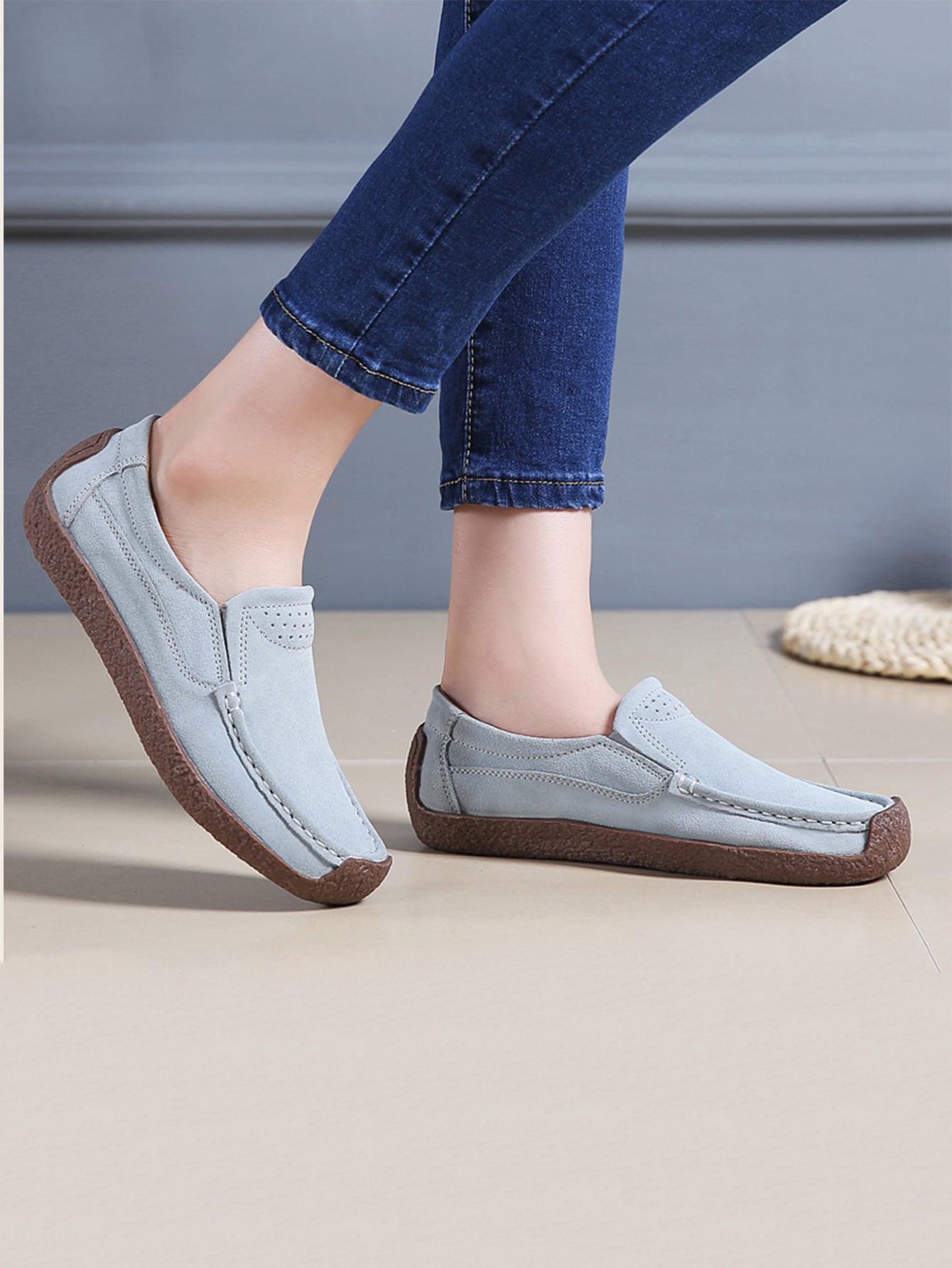 Stitch Trim Flat Loafers thumbnail
