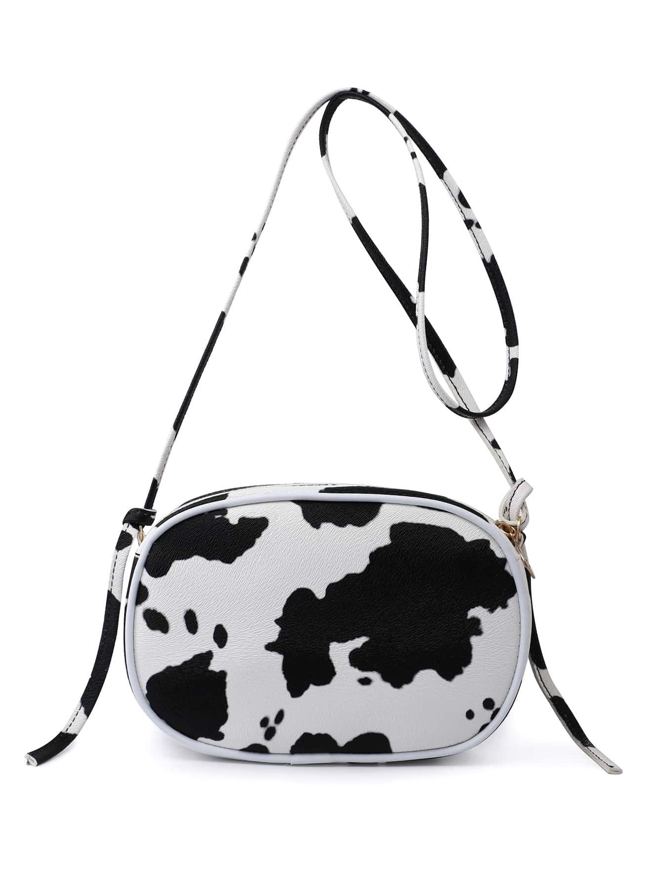 Cow Pattern Crossbody Bag thumbnail