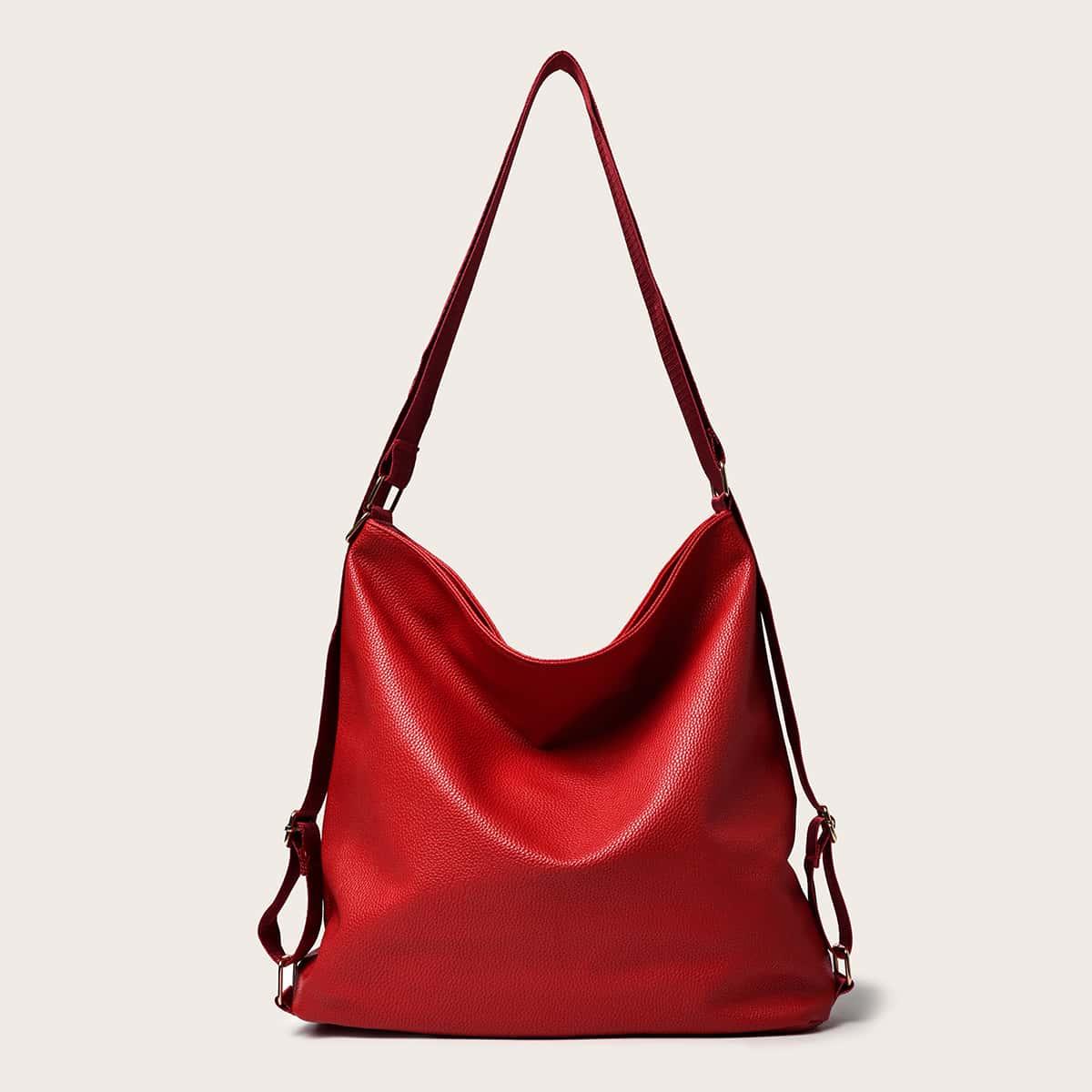 Минималистичная сумка-хобо