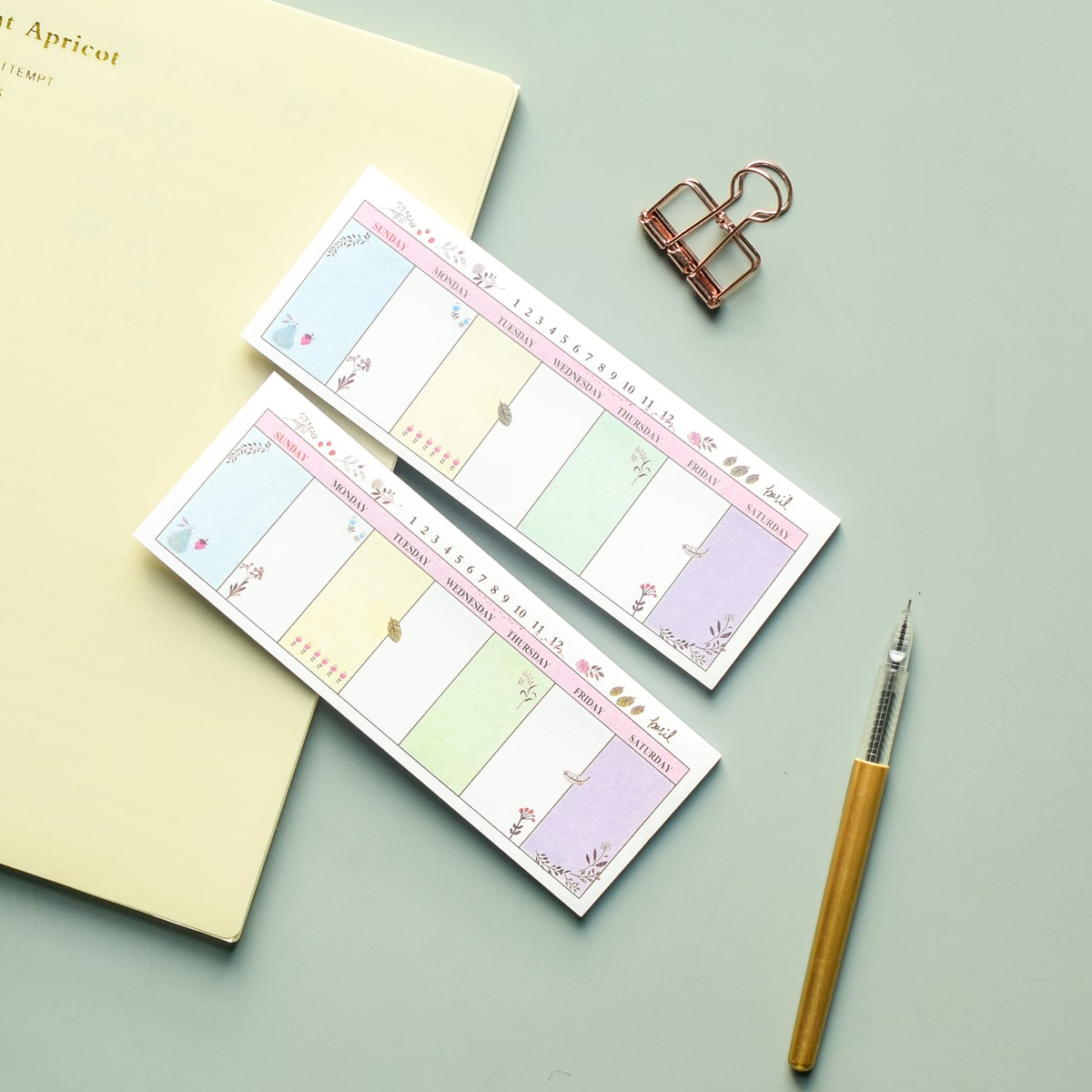 1pack Weekly Plan Sticky Note, SHEIN  - buy with discount