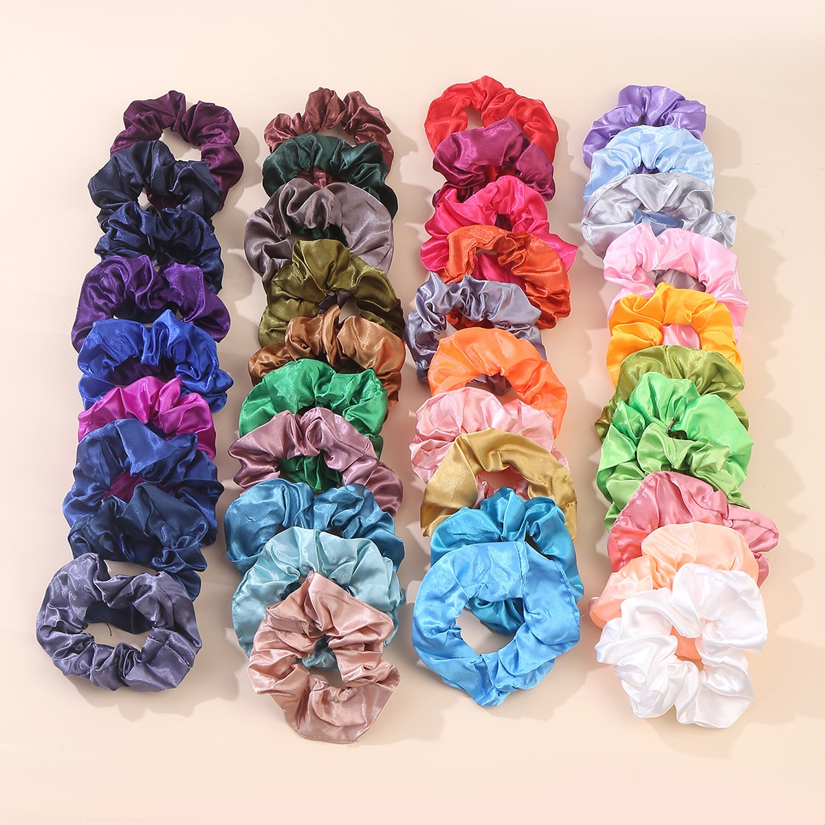 4Solid Scrunchie, SHEIN  - buy with discount