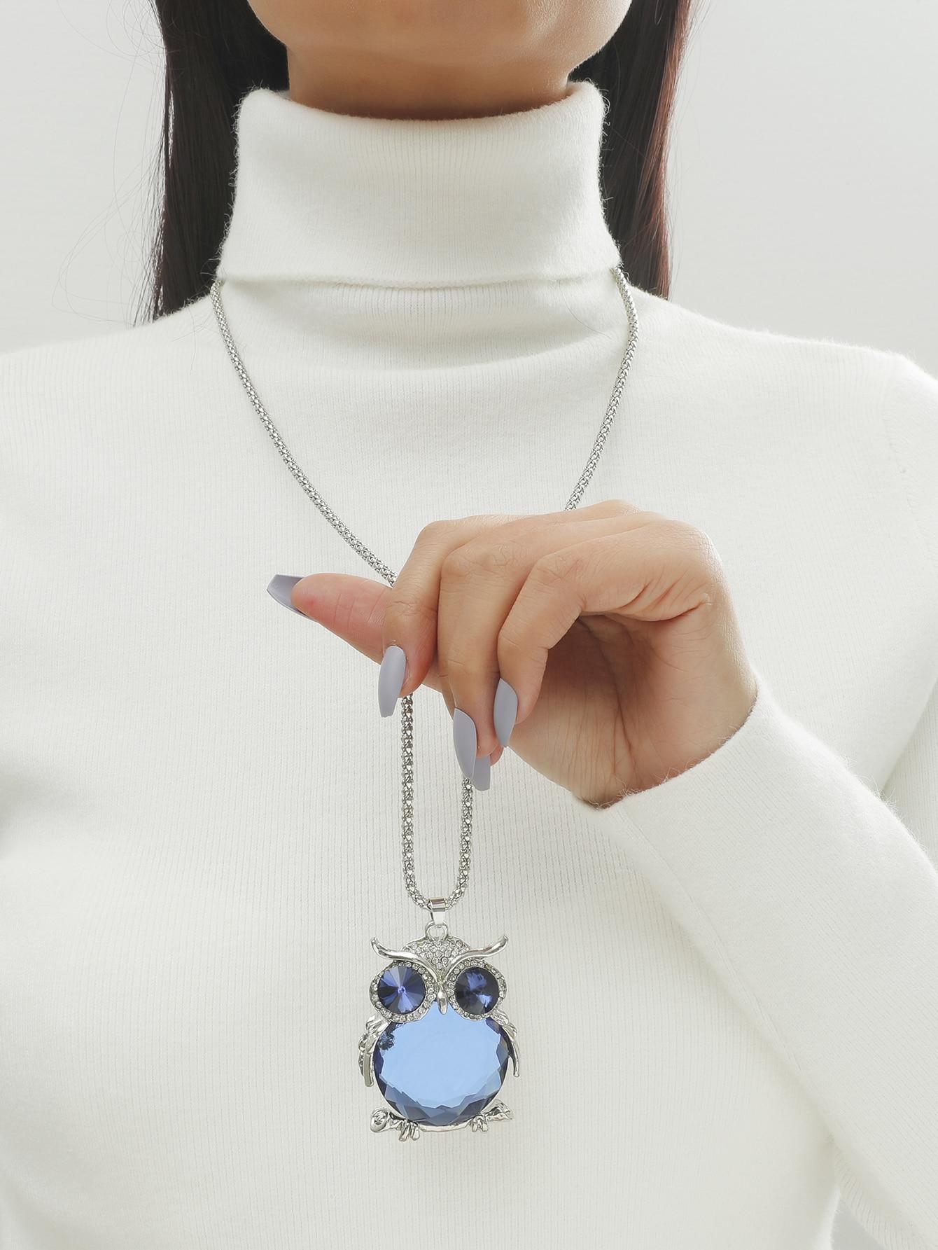 Owl Charm Necklace thumbnail