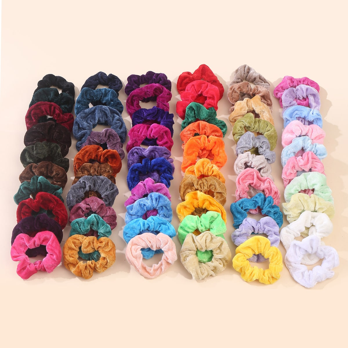 6Solid Scrunchie, SHEIN  - buy with discount