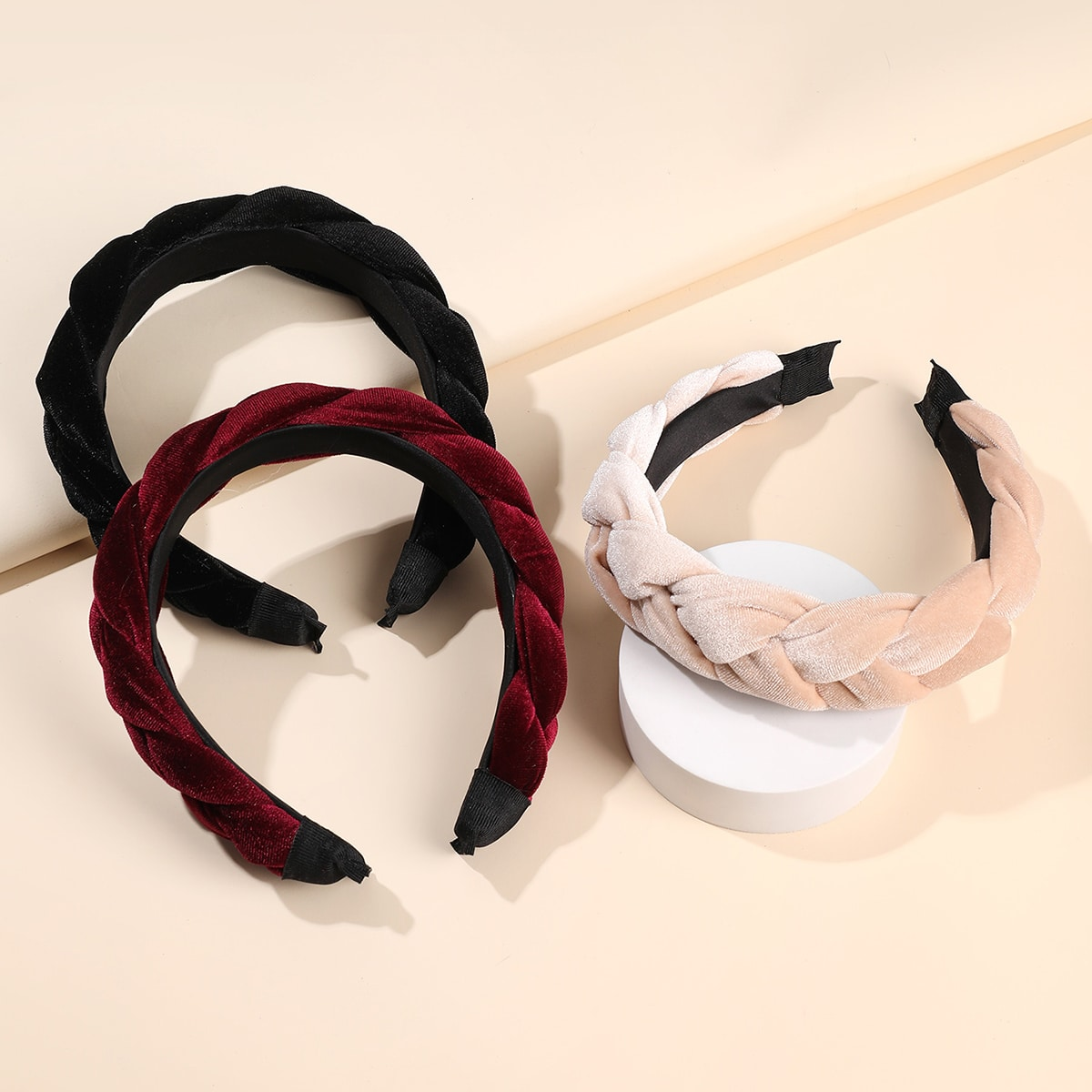 Braided Design Hair Hoop, SHEIN  - buy with discount