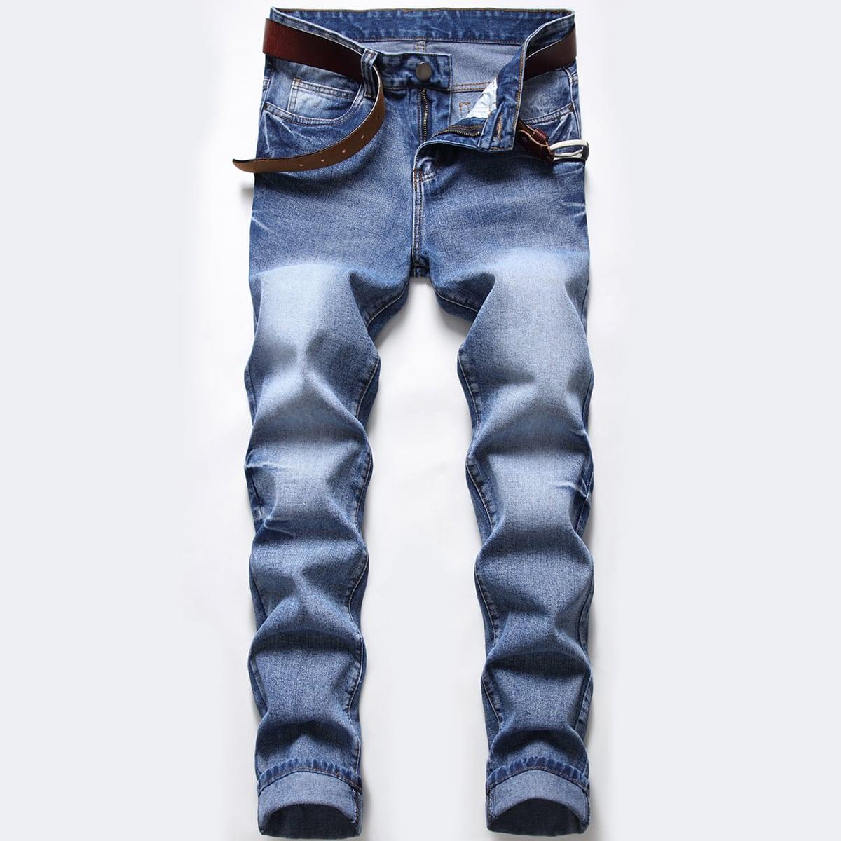 Мужские джинсы без пояса