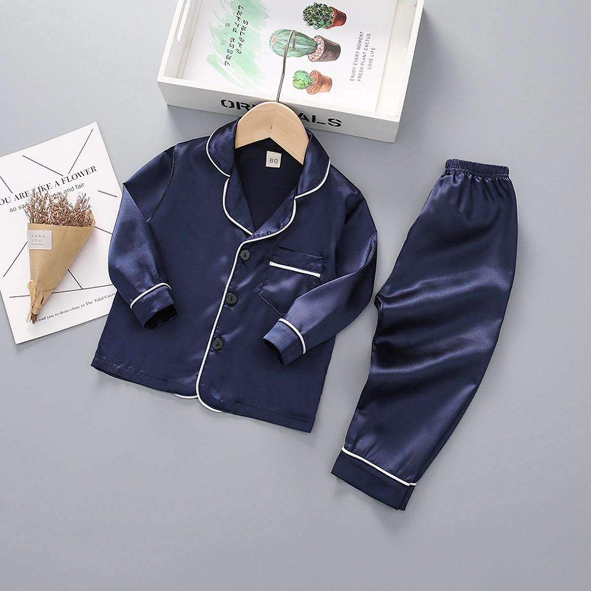с карманами Повседневный Домашняя одежда для мальчиков