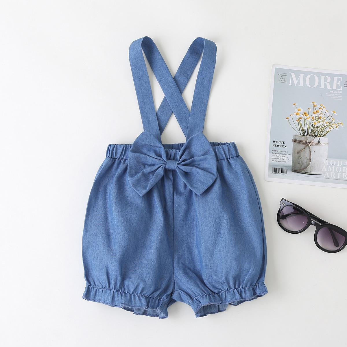 Джинсовые шорты для девочек от SHEIN